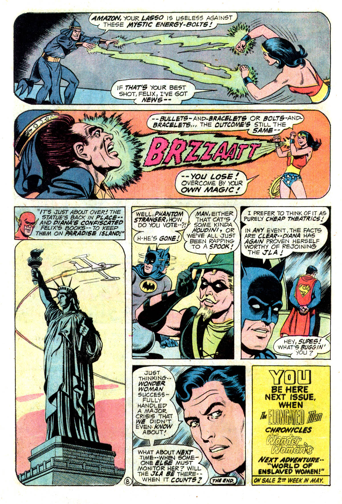 Read online Wonder Woman (1942) comic -  Issue #218 - 20