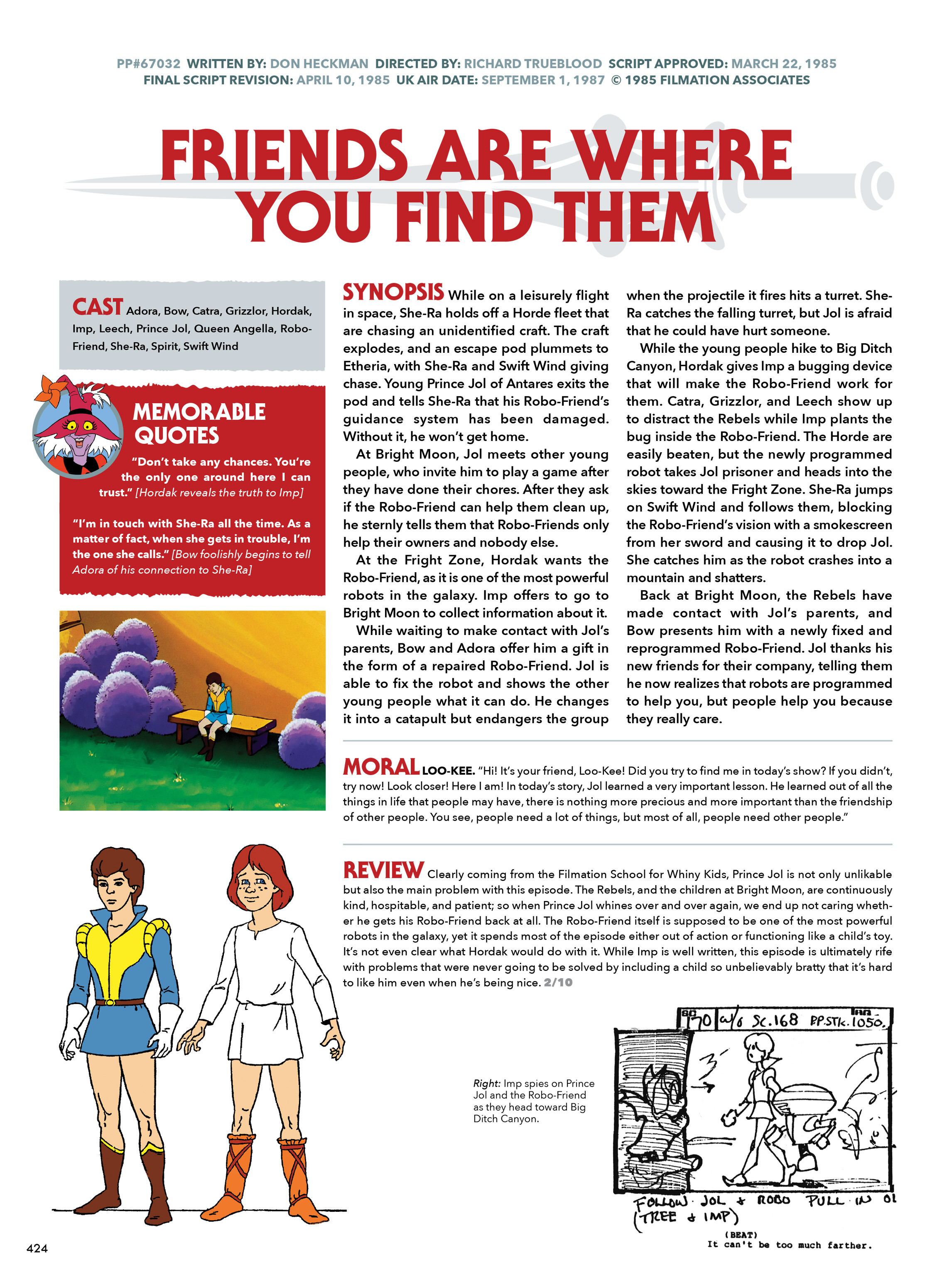 Read online He-Man and She-Ra: A Complete Guide to the Classic Animated Adventures comic -  Issue # TPB (Part 3) - 25