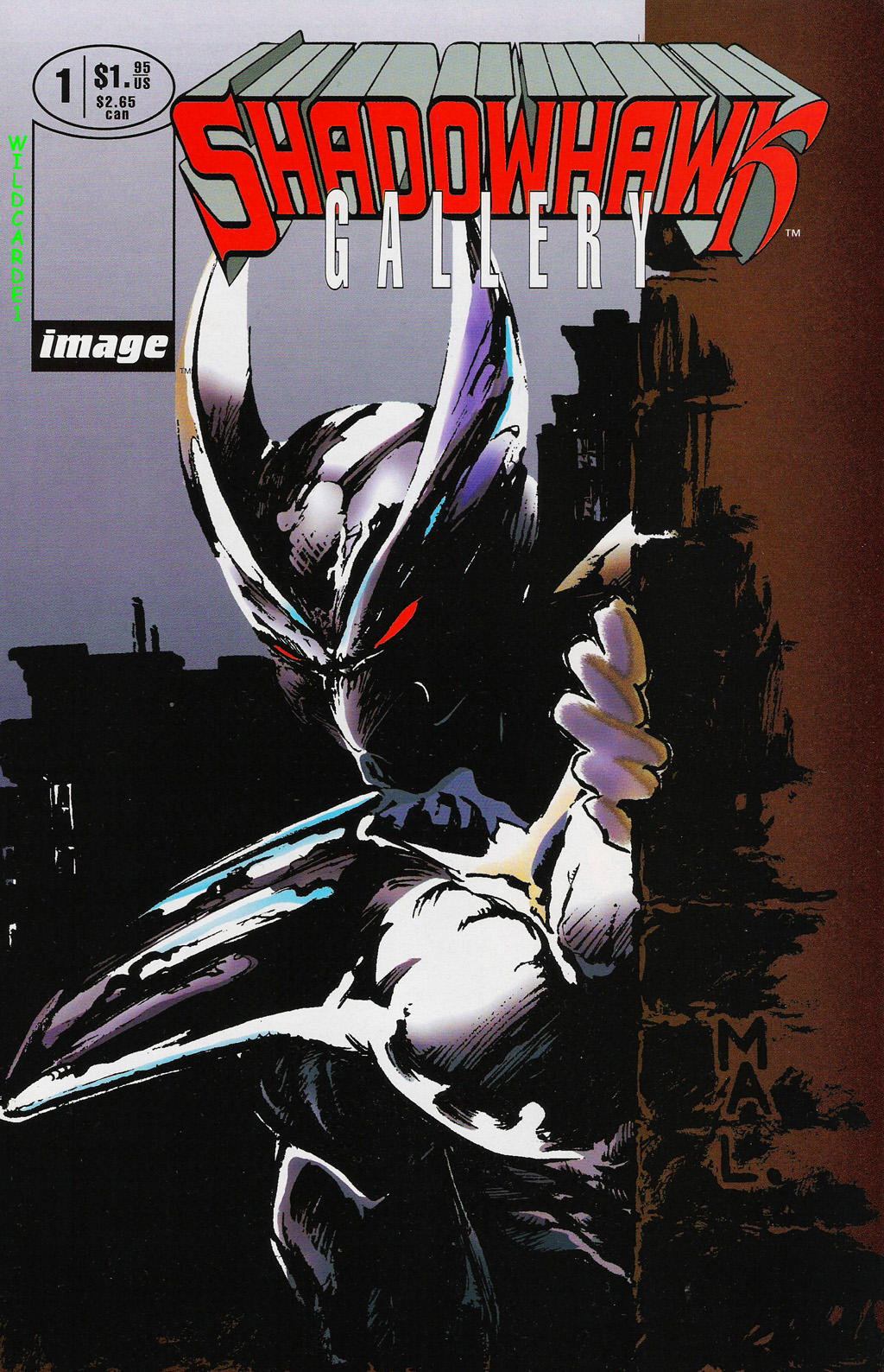 Read online ShadowHawk Gallery comic -  Issue # Full - 1