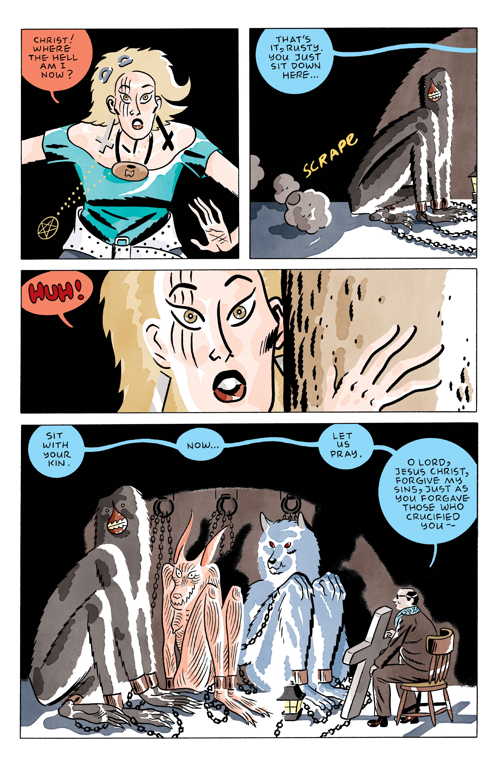 Read online She Wolf comic -  Issue #3 - 4