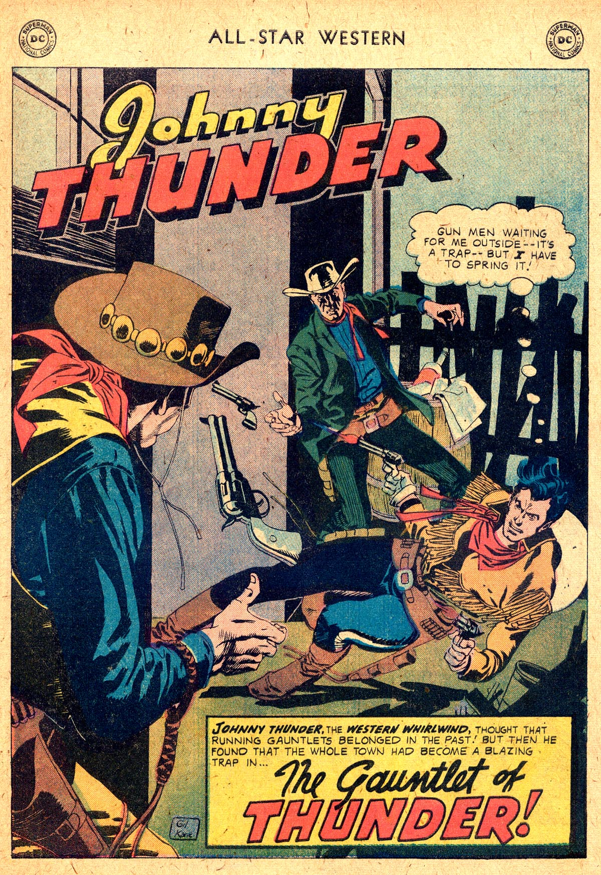 Read online All-Star Western (1951) comic -  Issue #104 - 25
