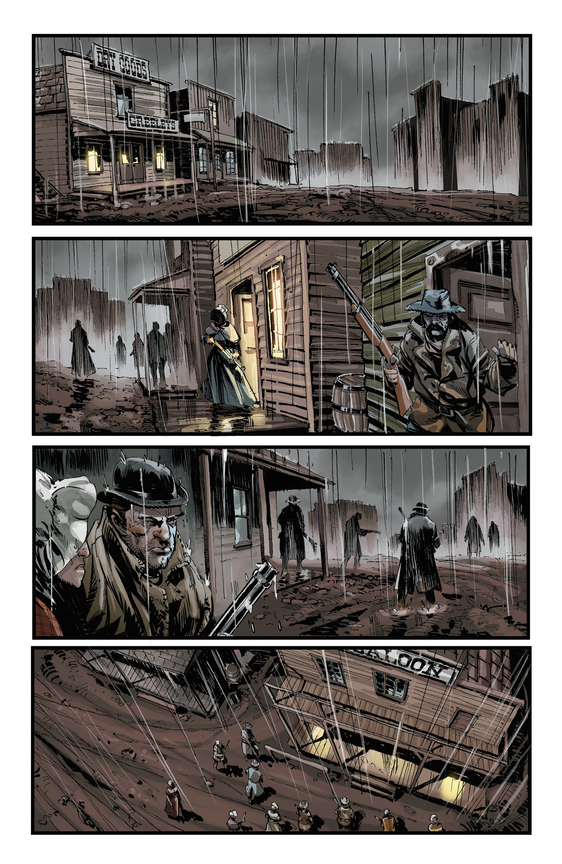 Read online All-Star Western (2011) comic -  Issue #32 - 10
