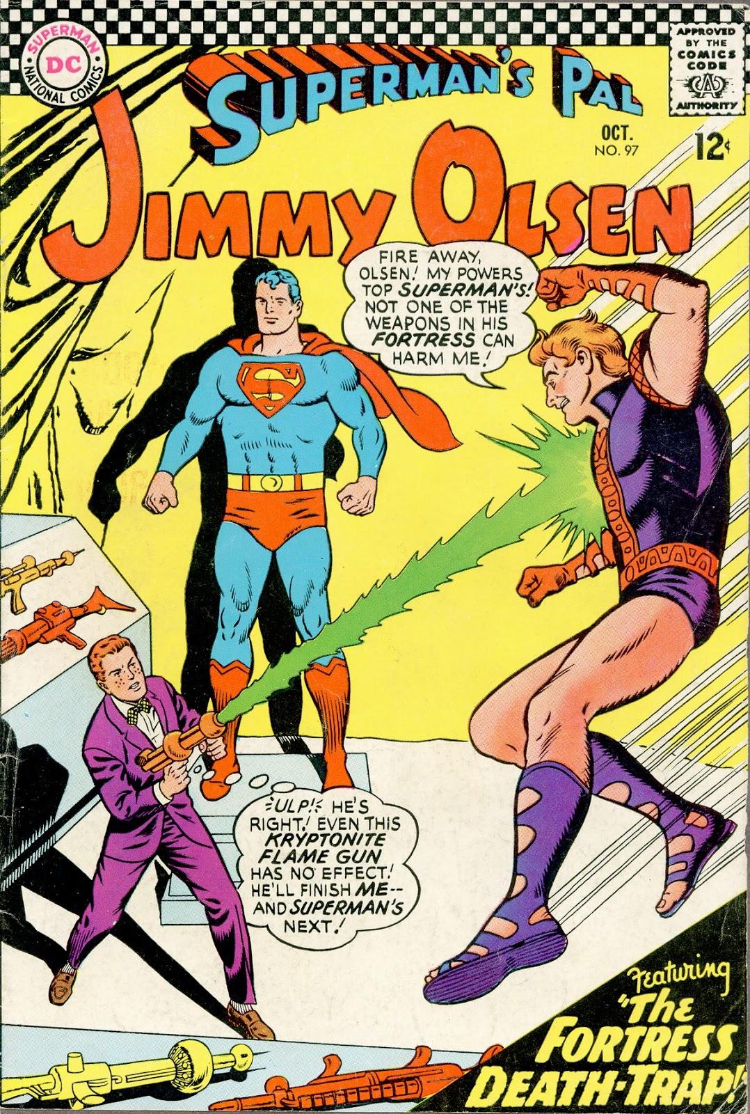 Supermans Pal Jimmy Olsen (1954) 97 Page 1