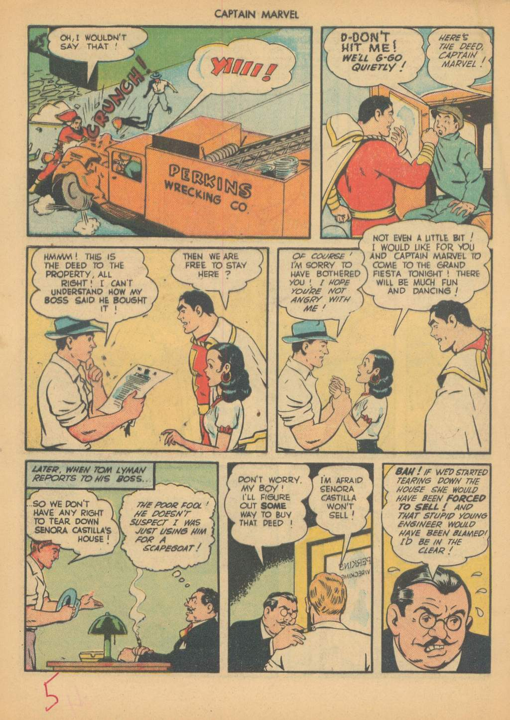 Captain Marvel Adventures issue 63 - Page 8