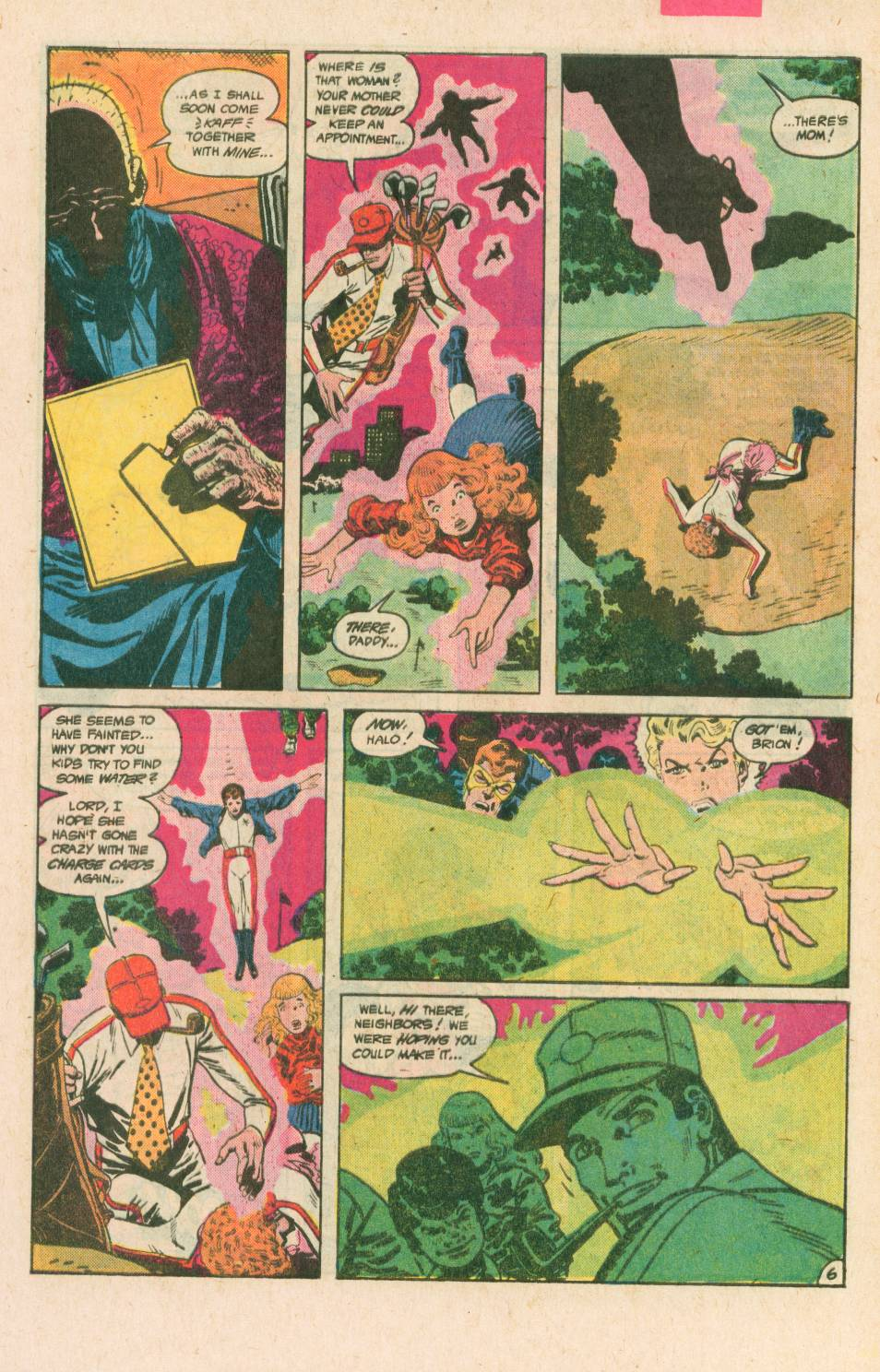 Read online Adventures of the Outsiders comic -  Issue #40 - 7