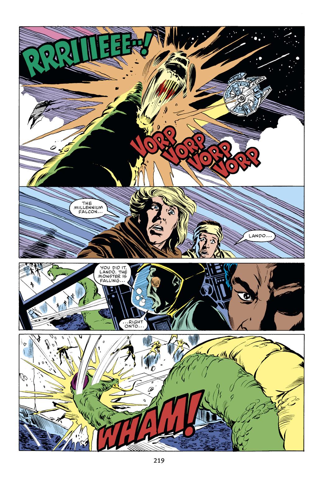 Read online Star Wars Omnibus comic -  Issue # Vol. 18 - 206
