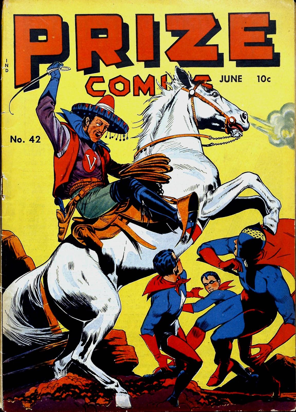 Prize Comics 42 Page 1