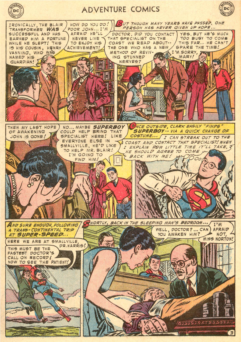 Read online Adventure Comics (1938) comic -  Issue #208 - 5