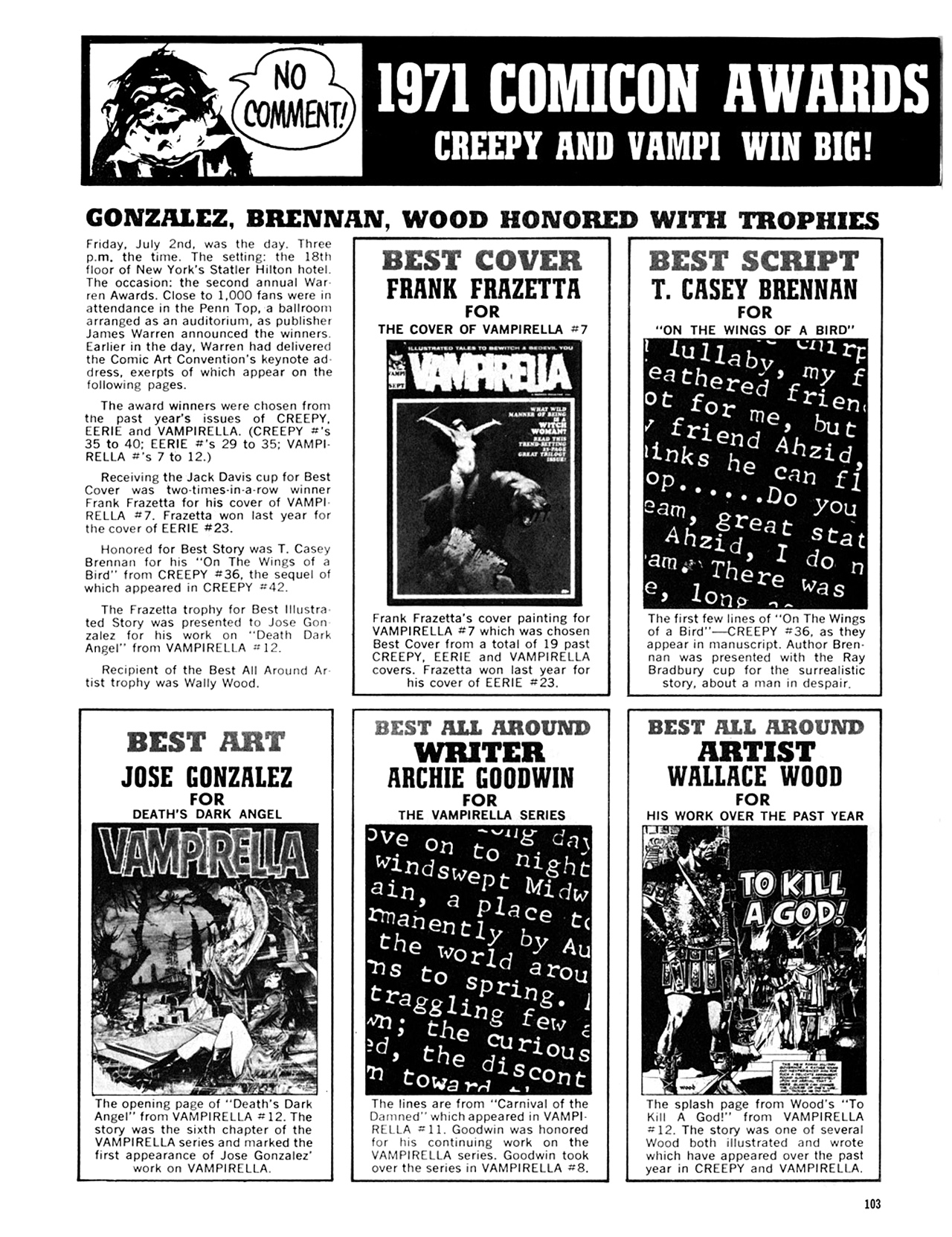 Read online Eerie Archives comic -  Issue # TPB 8 - 104