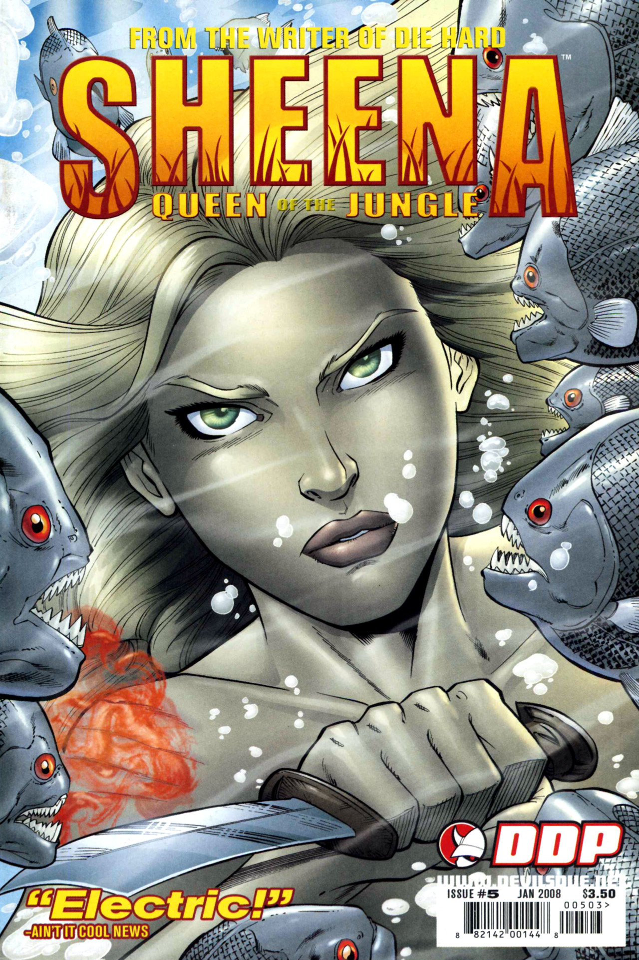 Read online Sheena, Queen of the Jungle comic -  Issue #5 - 1