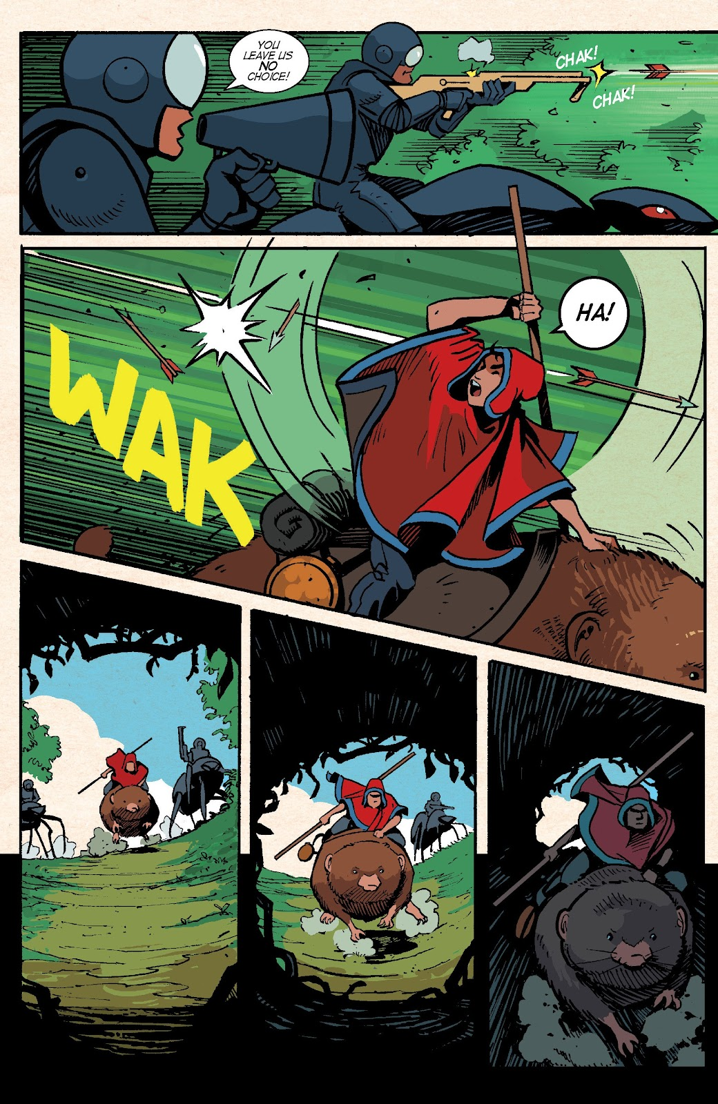 Read online Auntie Agatha's Home For Wayward Rabbits comic -  Issue #6 - 26