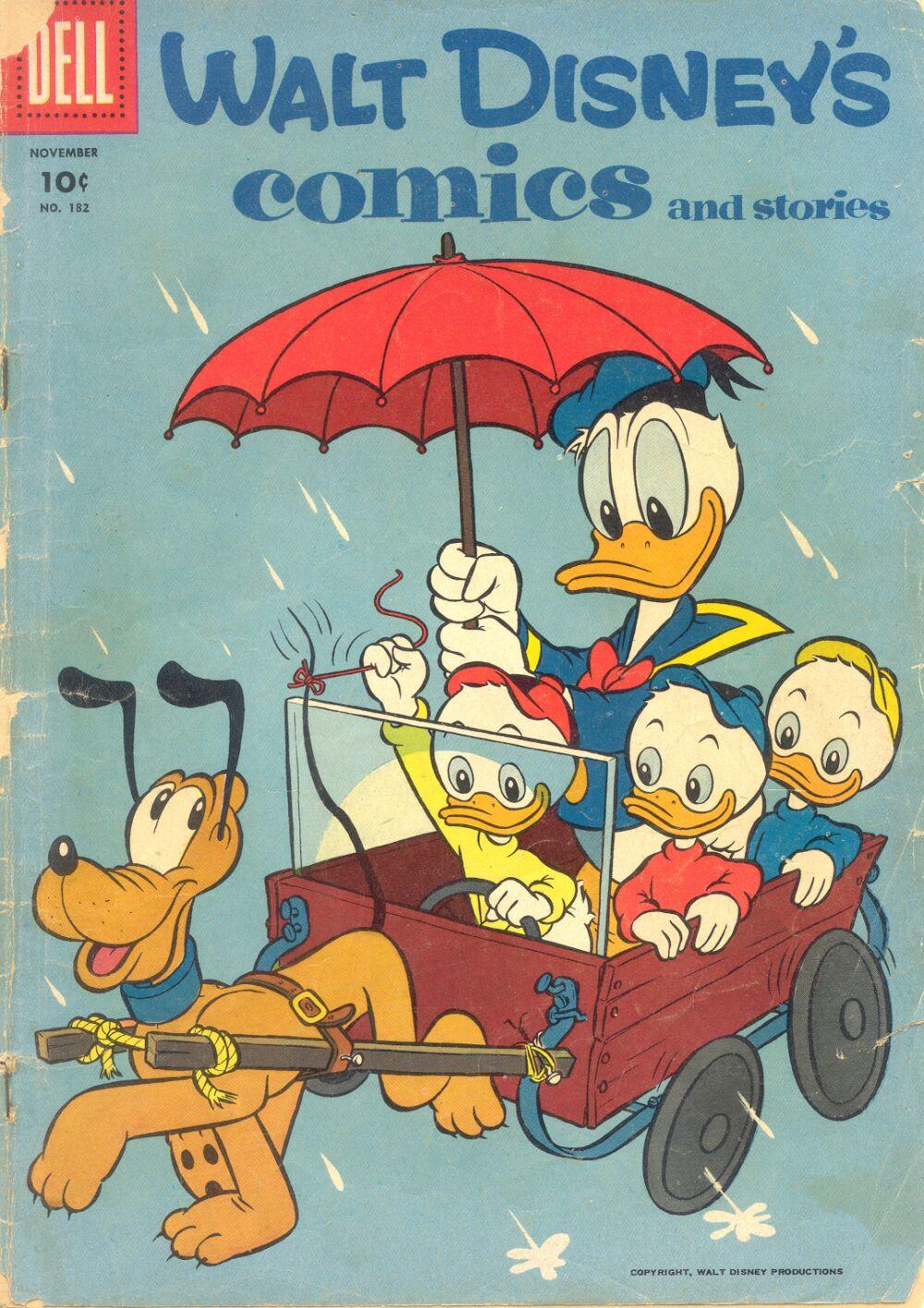 Walt Disneys Comics and Stories 182 Page 1