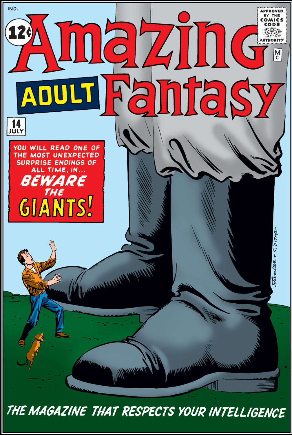 Read online Amazing Adult Fantasy comic -  Issue #14 - 1