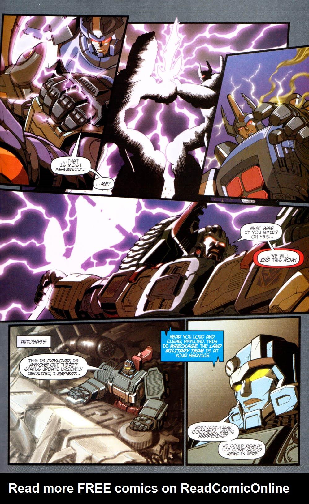 Read online Transformers Armada comic -  Issue #16 - 23