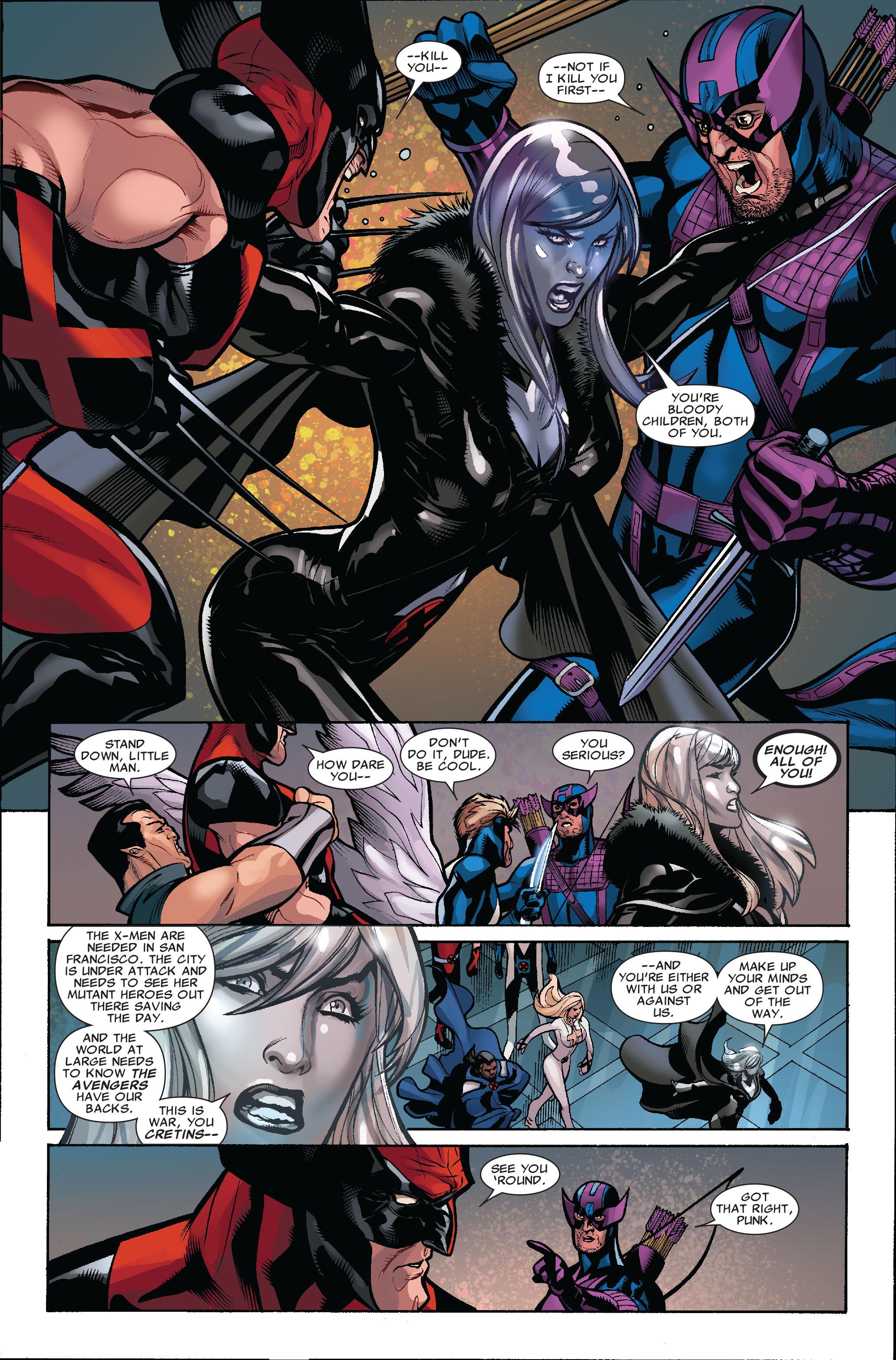 Read online Uncanny X-Men (1963) comic -  Issue #514 - 8