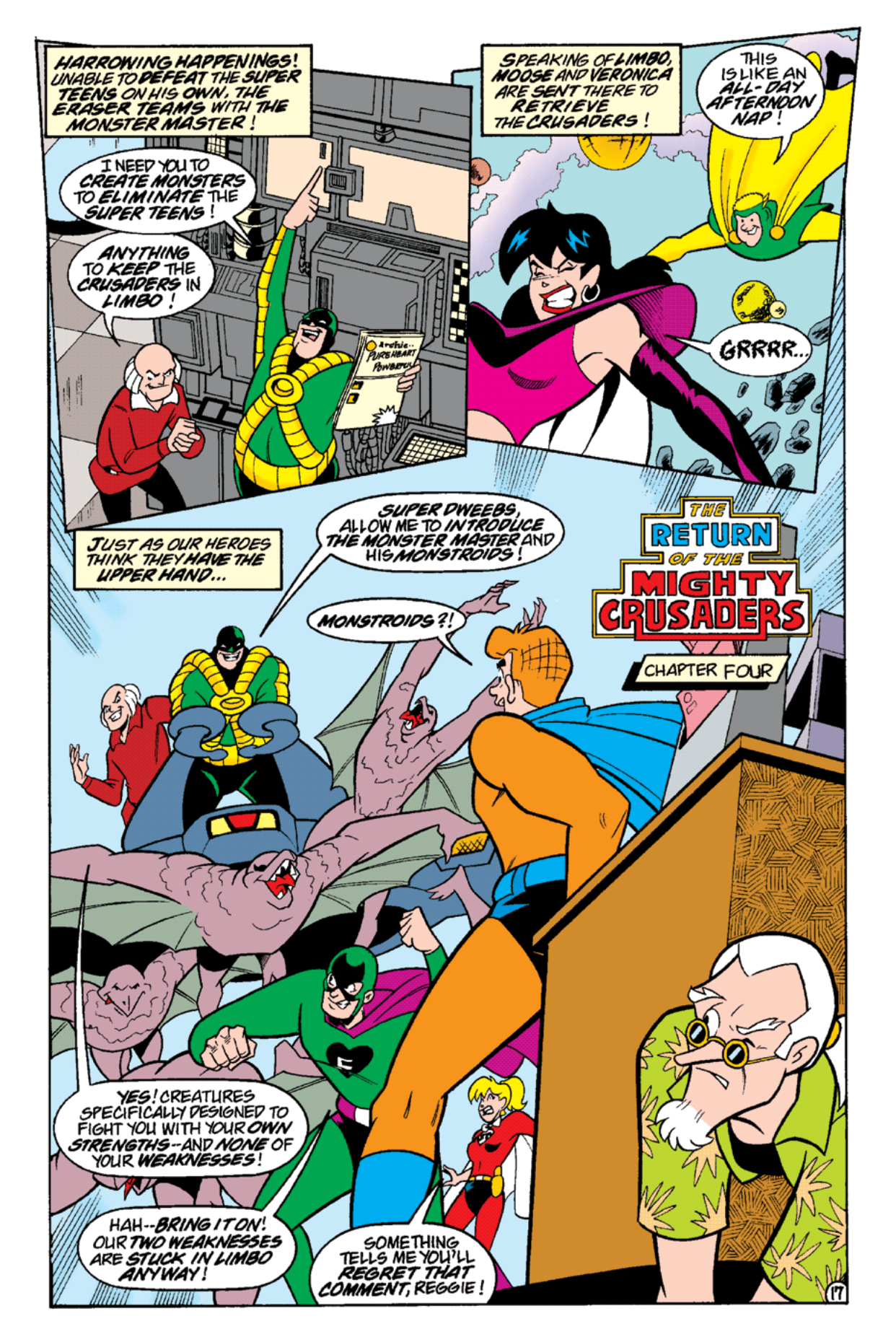 Read online Archie's Weird Mysteries comic -  Issue #14 - 19