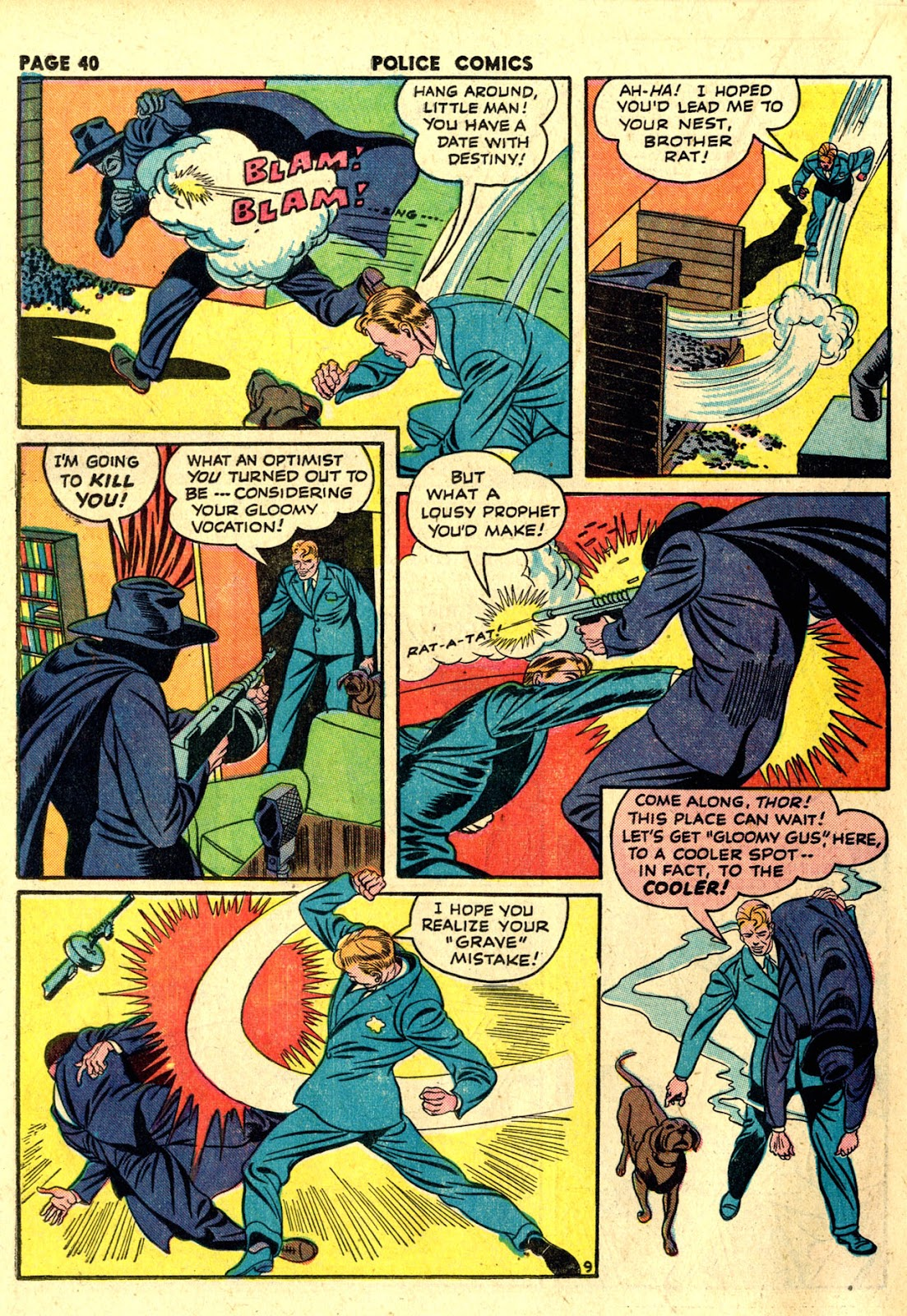 Police Comics issue 19 - Page 42