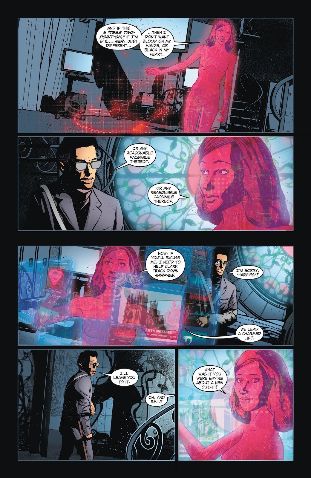 Read online Smallville Season 11 [II] comic -  Issue # TPB 6 - 43