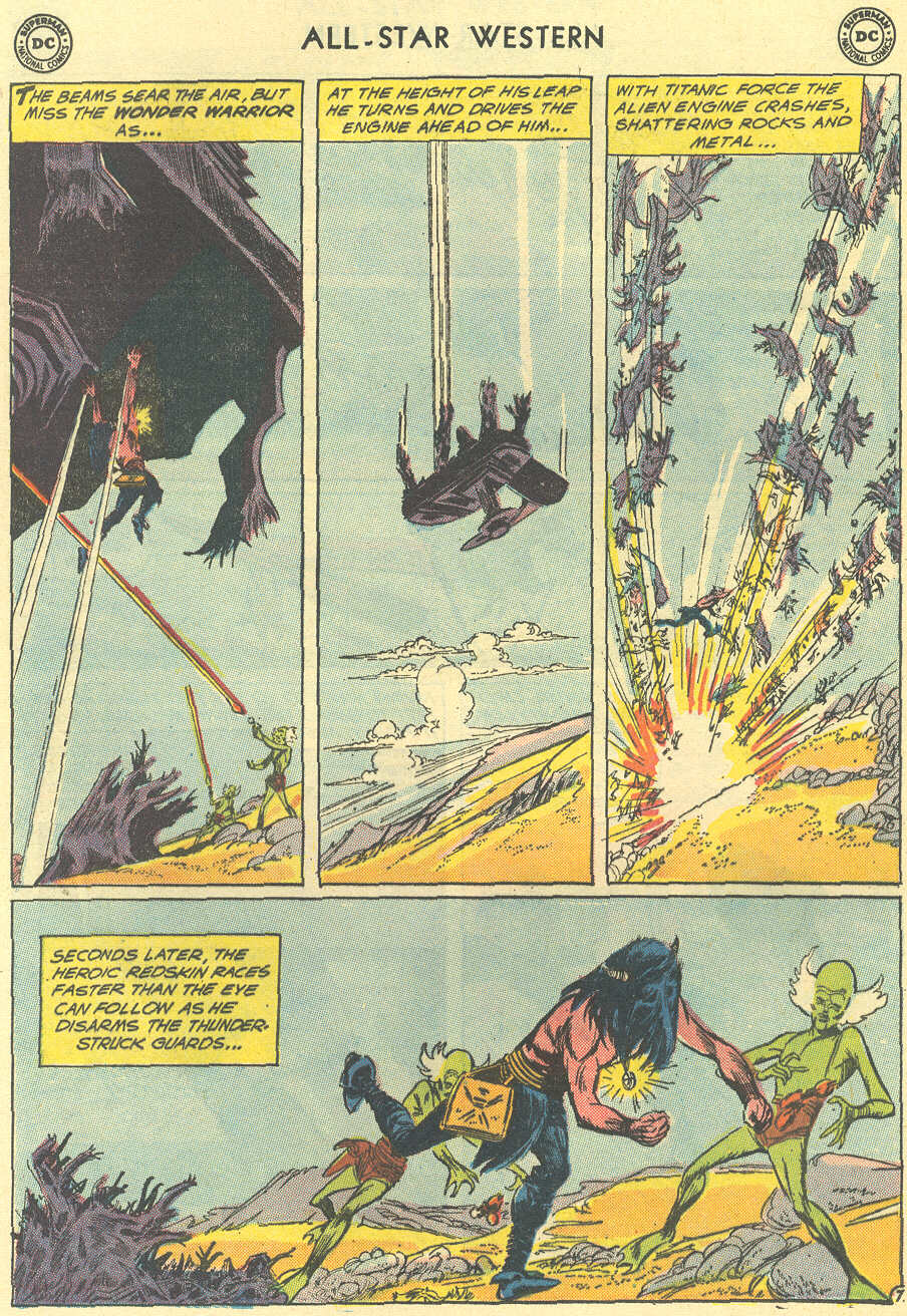 Read online All-Star Western (1951) comic -  Issue #119 - 28