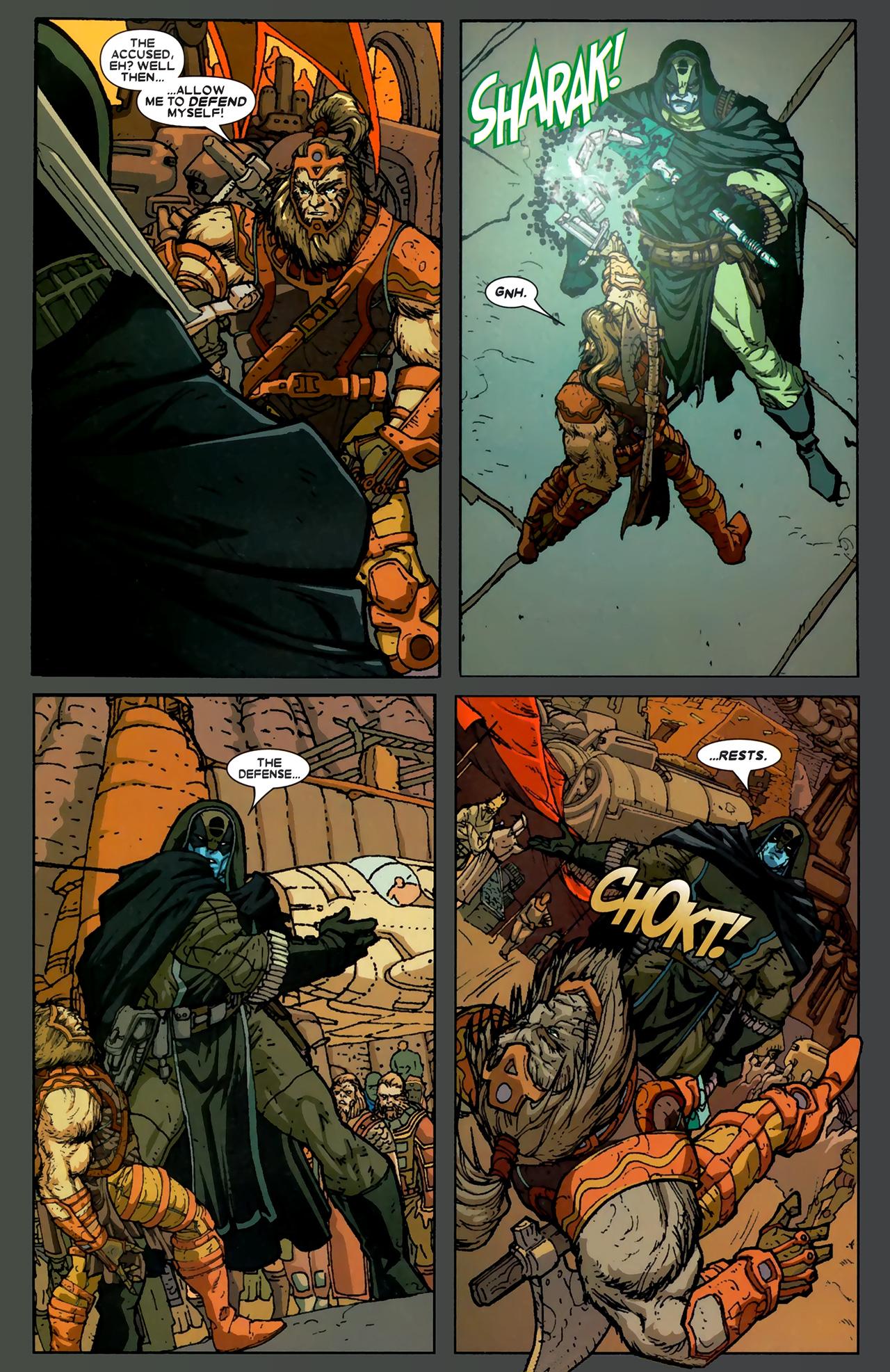 Read online Annihilation: Ronan comic -  Issue #1 - 5
