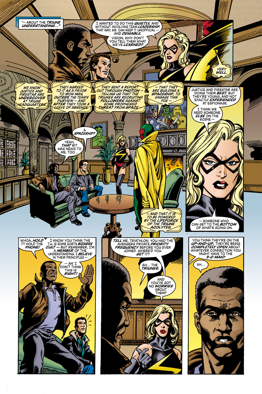 Read online Avengers (1998) comic -  Issue #45 - 12