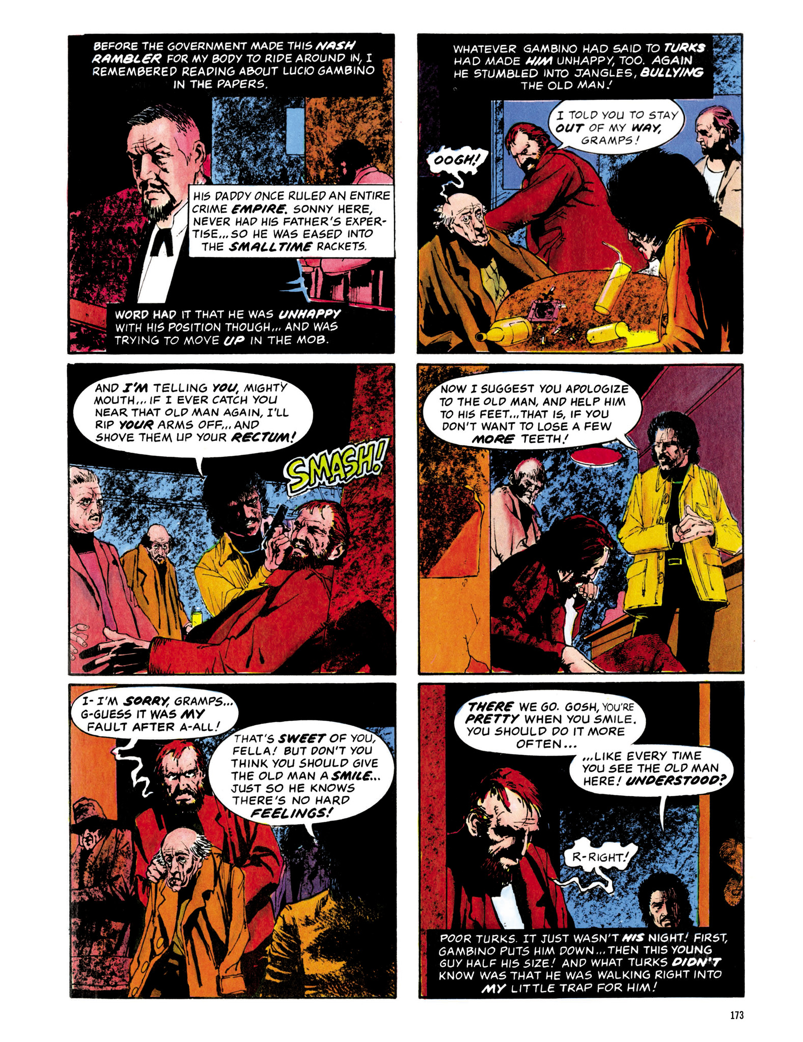 Read online Eerie Archives comic -  Issue # TPB 13 - 174