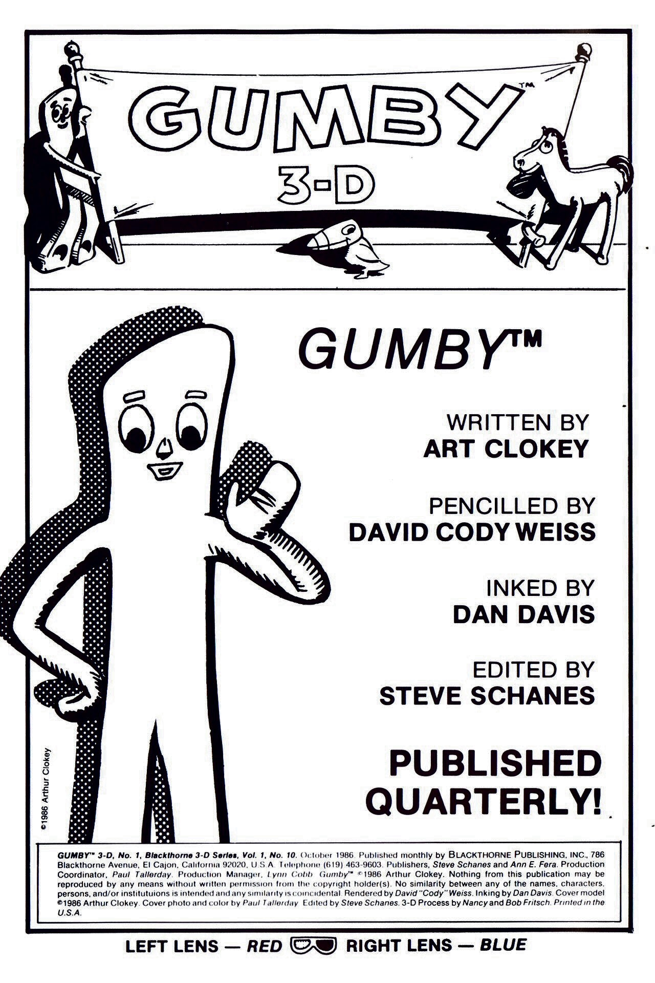 Gumby 3-D issue 1 - Page 2