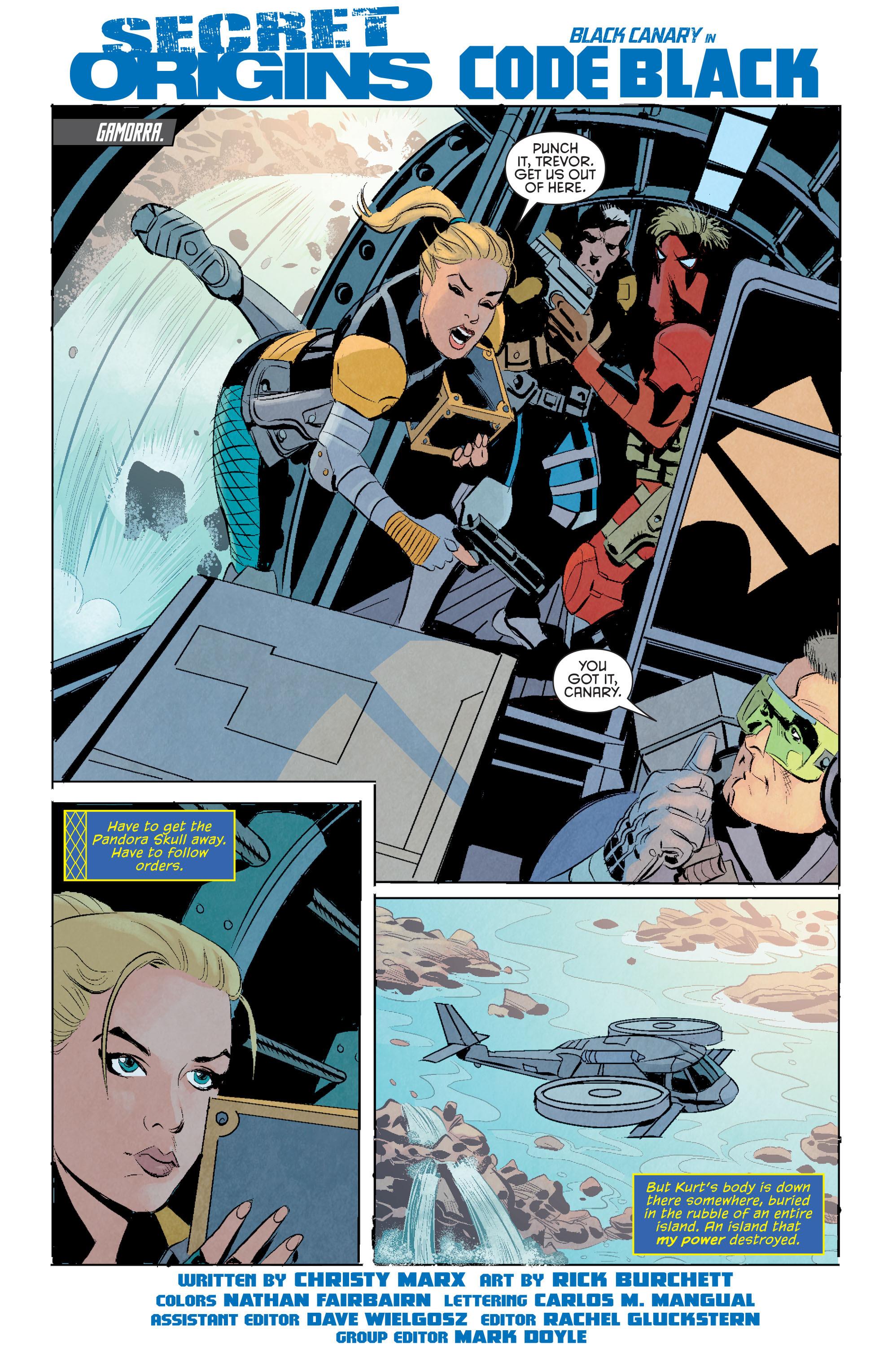 Read online Secret Origins (2014) comic -  Issue #11 - 26