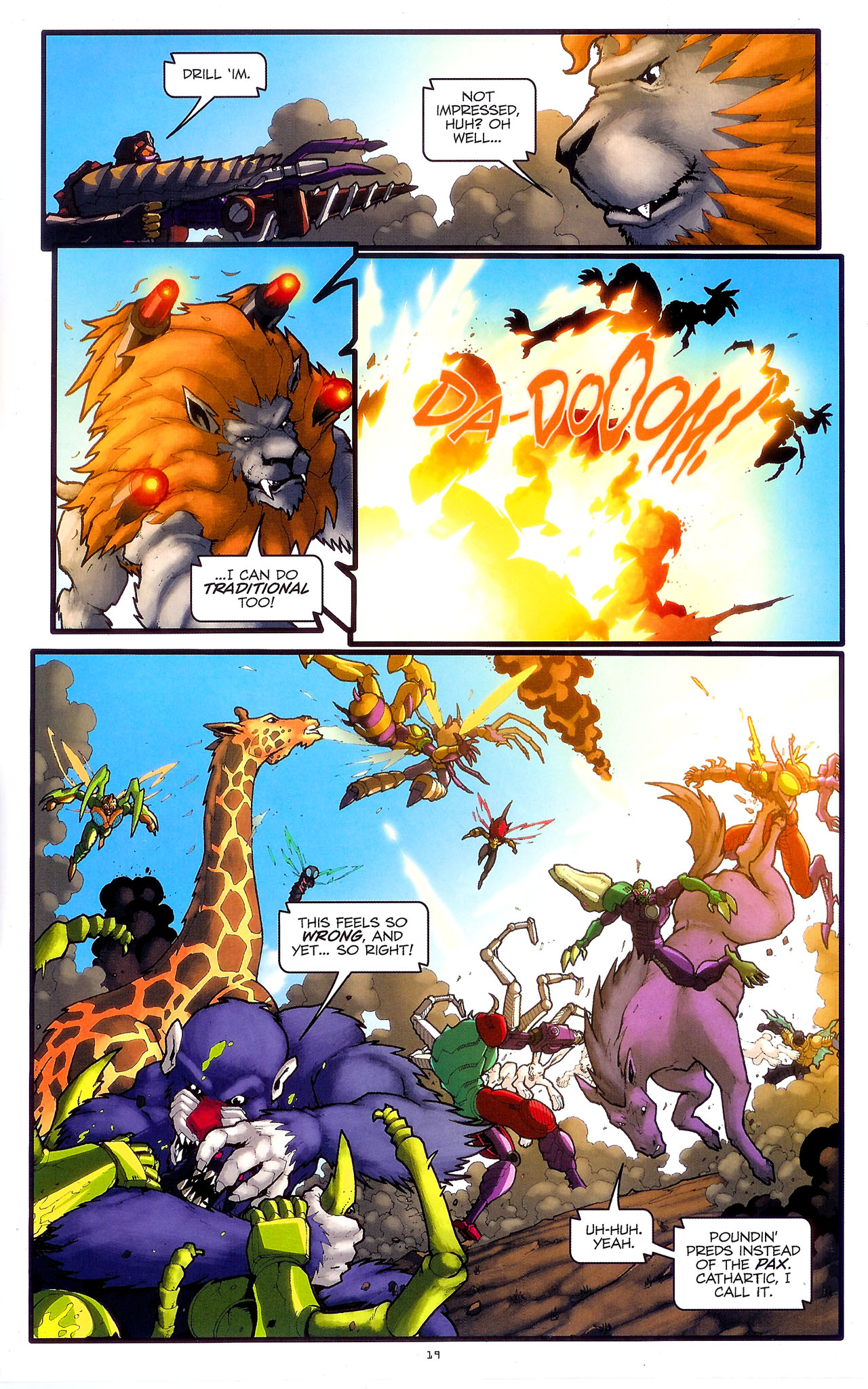 Read online Transformers: Beast Wars: The Ascending comic -  Issue #2 - 22