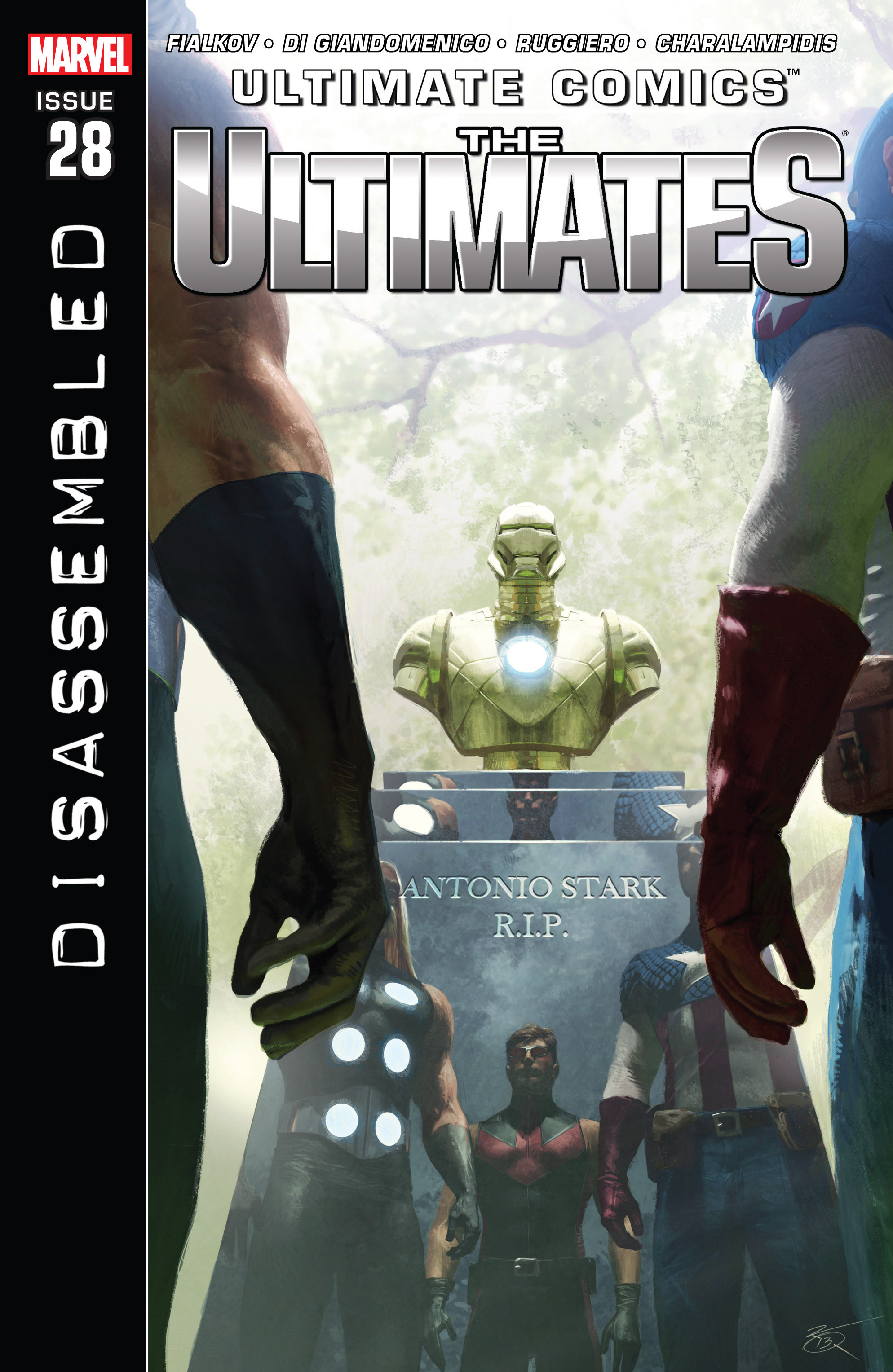 Read online Ultimate Comics Ultimates comic -  Issue #28 - 1