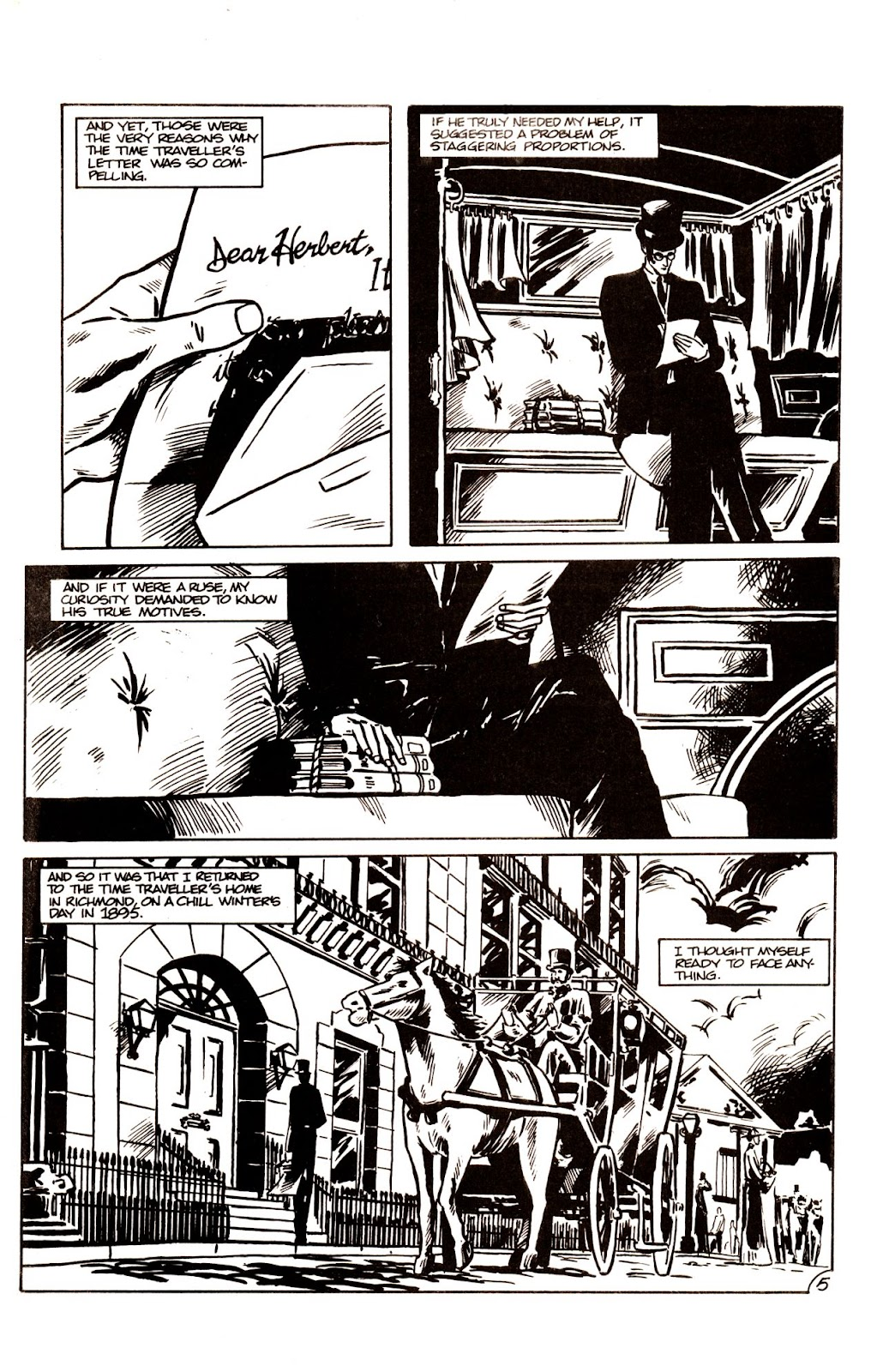 The Time Machine issue 1 - Page 7