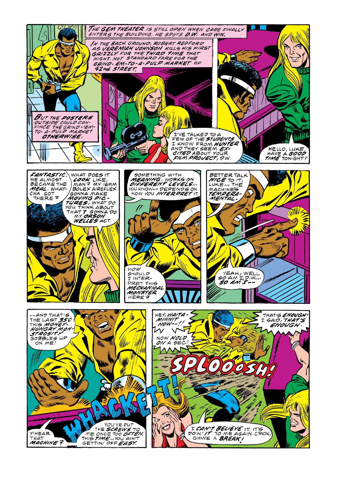 Read online Marvel Masterworks: Luke Cage, Power Man comic -  Issue # TPB 3 (Part 1) - 40