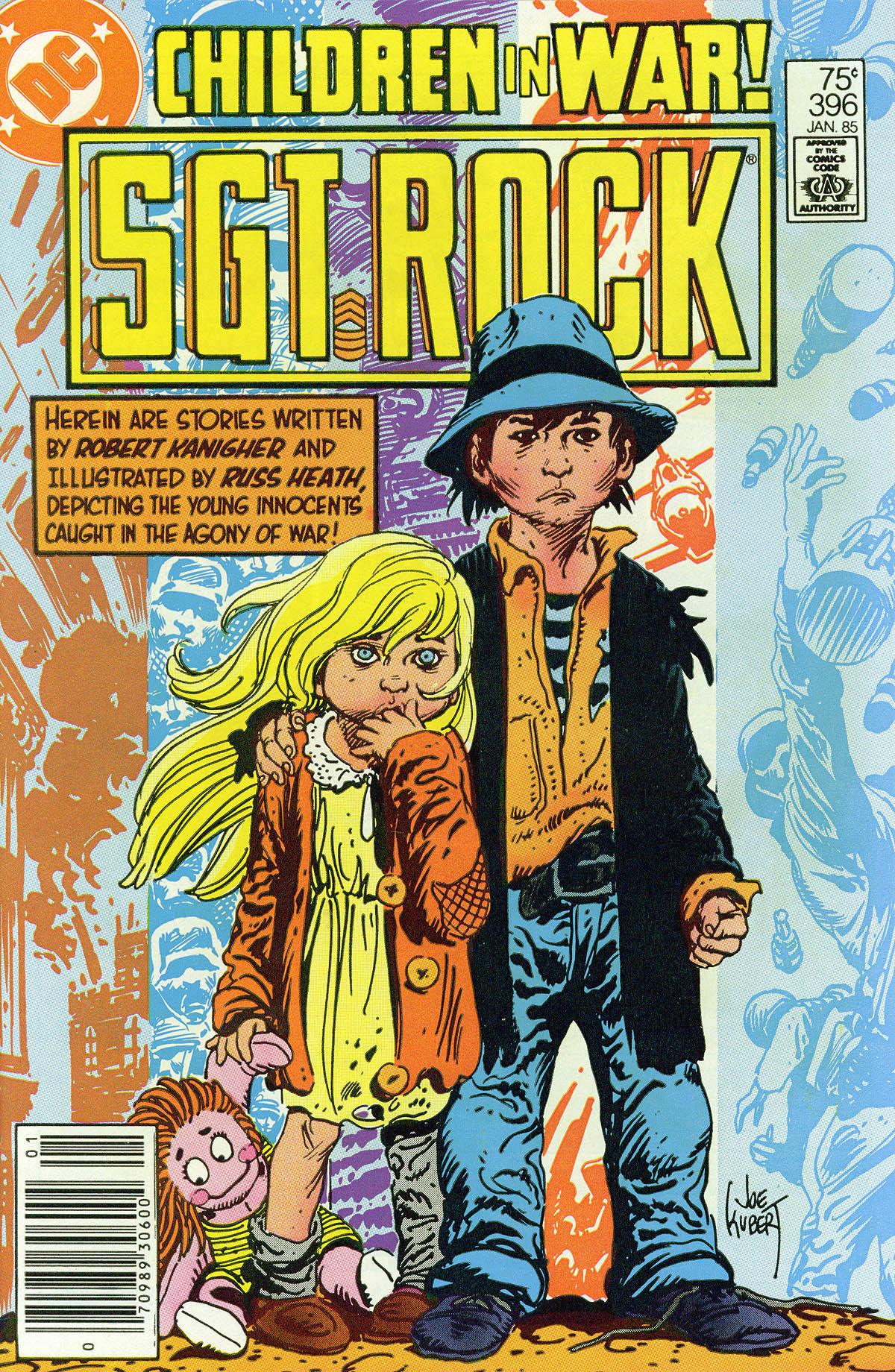 Read online Sgt. Rock comic -  Issue #396 - 1