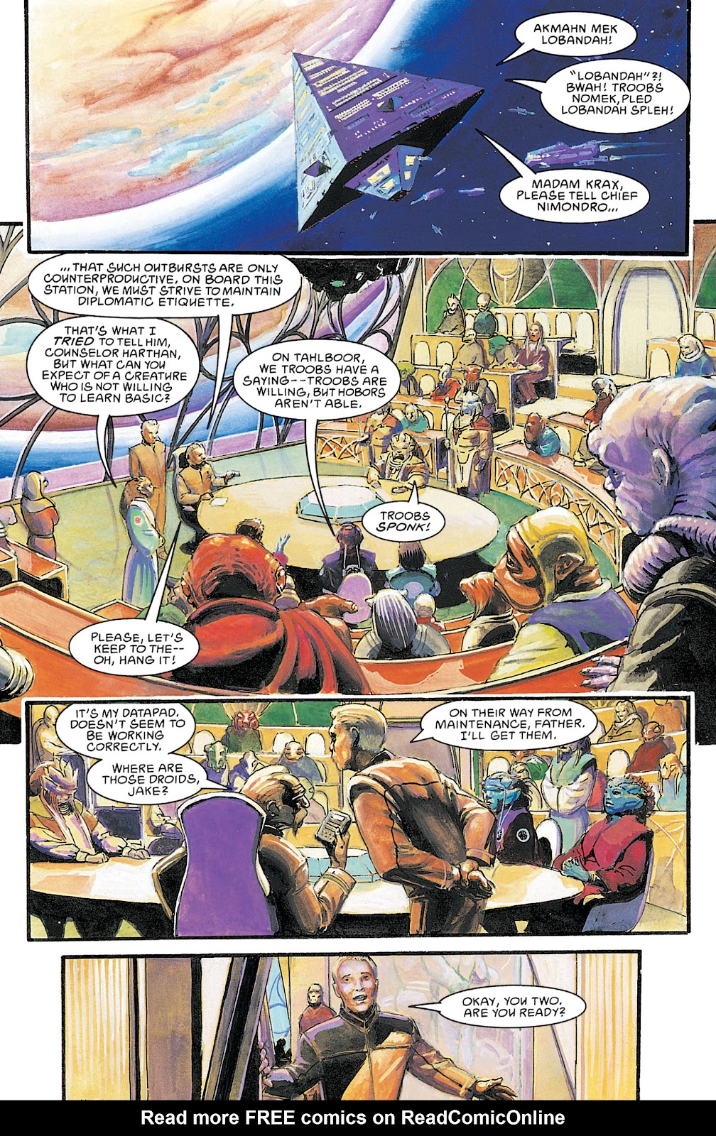 Read online Star Wars Legends Epic Collection: The Empire comic -  Issue # TPB 5 (Part 4) - 92