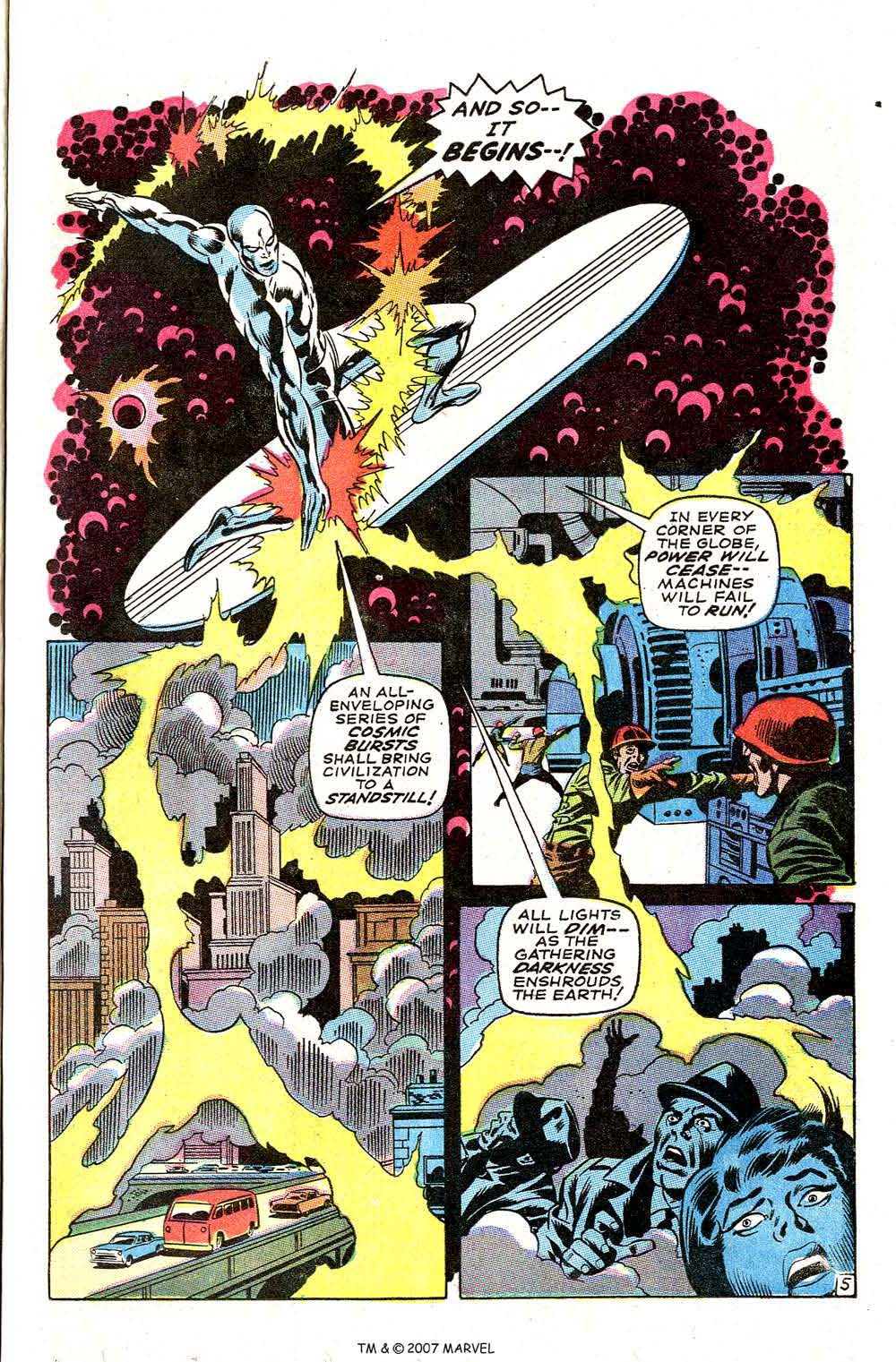 Silver Surfer (1968) issue 3 - Page 7
