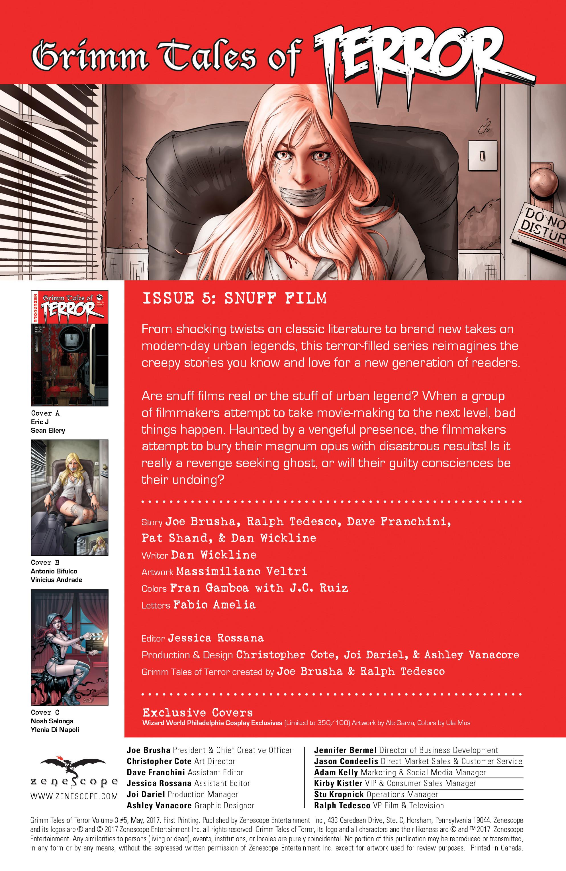 Read online Grimm Tales of Terror: Vol. 3 comic -  Issue #5 - 2