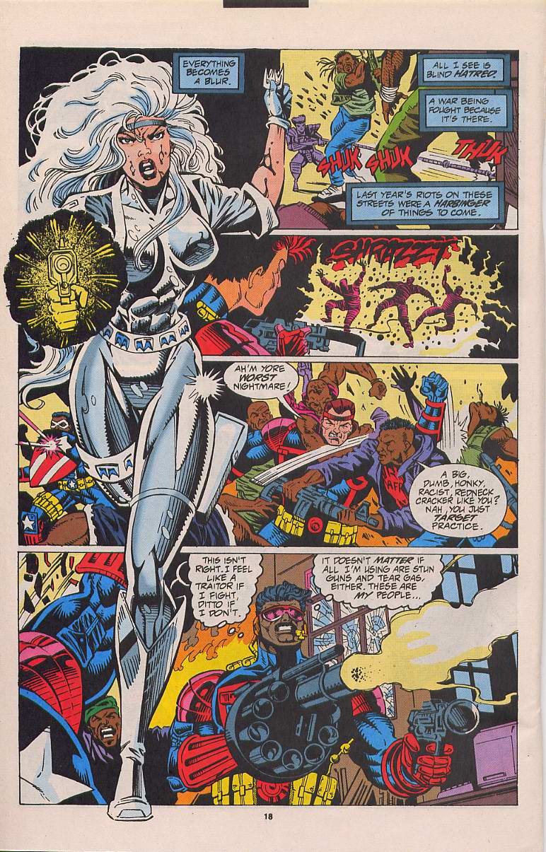 Read online Silver Sable and the Wild Pack comic -  Issue #21 - 15