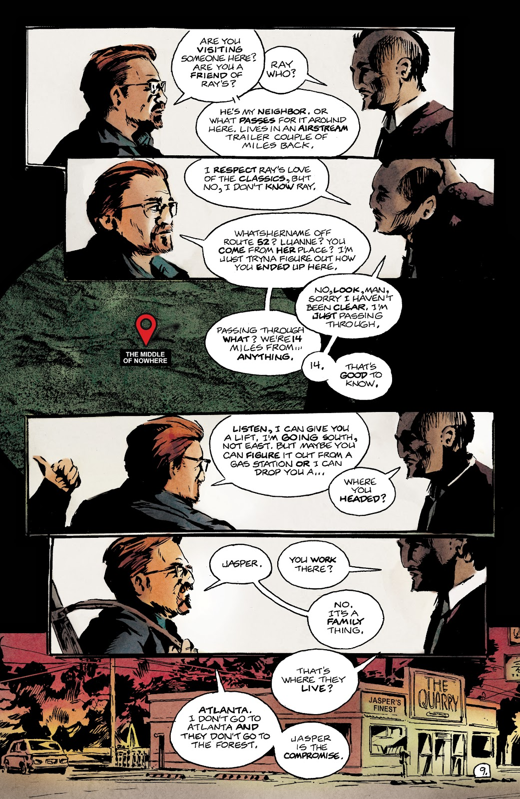 Read online Nobody Is In Control comic -  Issue #1 - 13