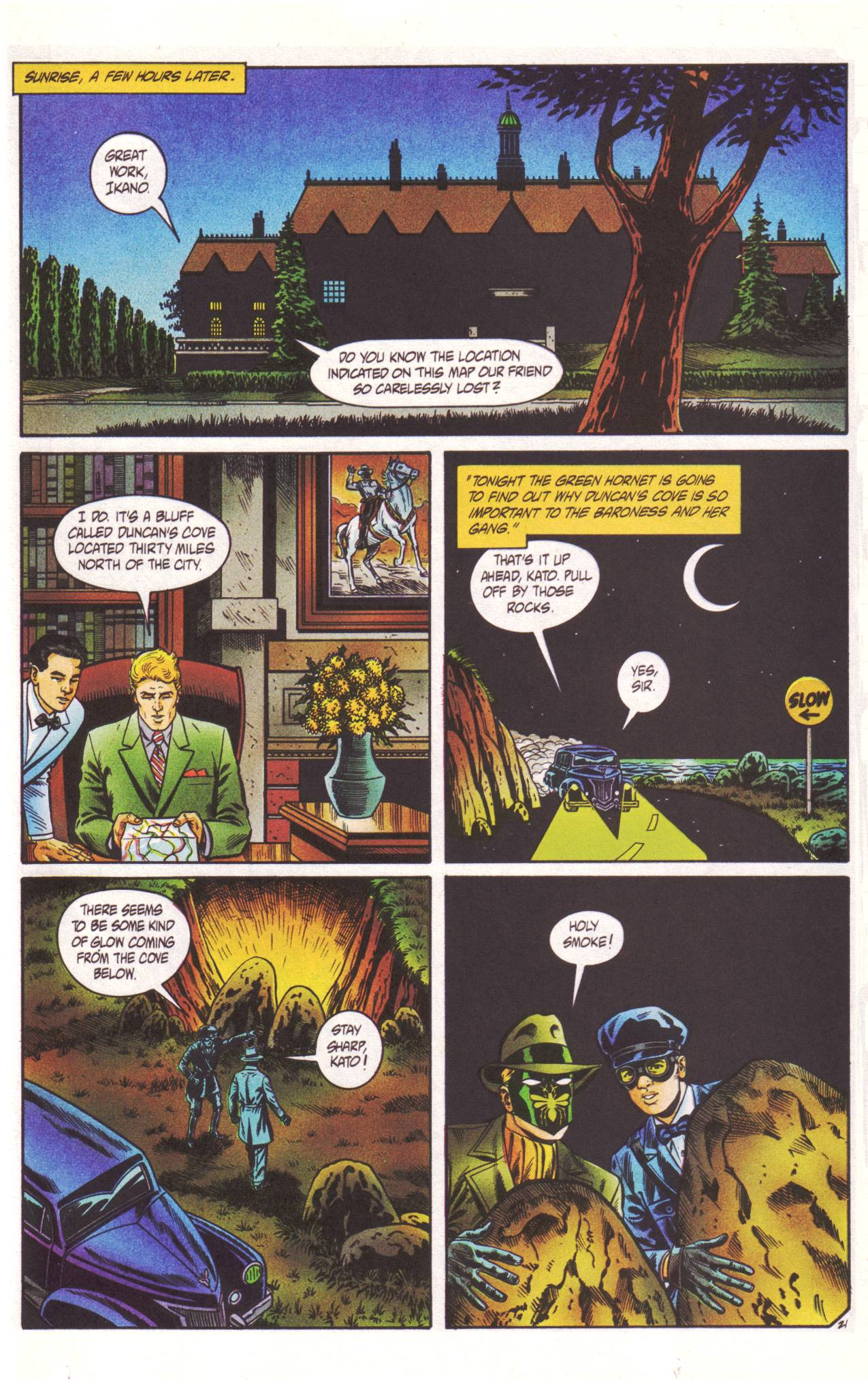 Read online Sting of The Green Hornet comic -  Issue #2 - 22