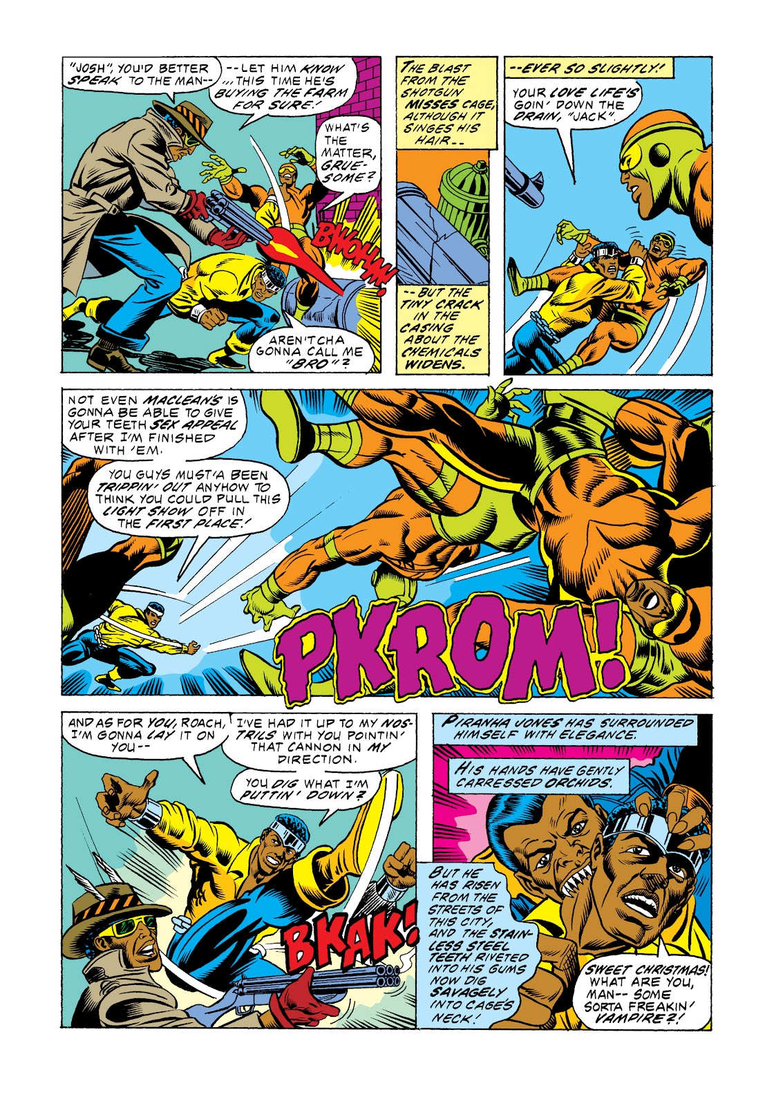 Read online Marvel Masterworks: Luke Cage, Power Man comic -  Issue # TPB 2 (Part 3) - 74