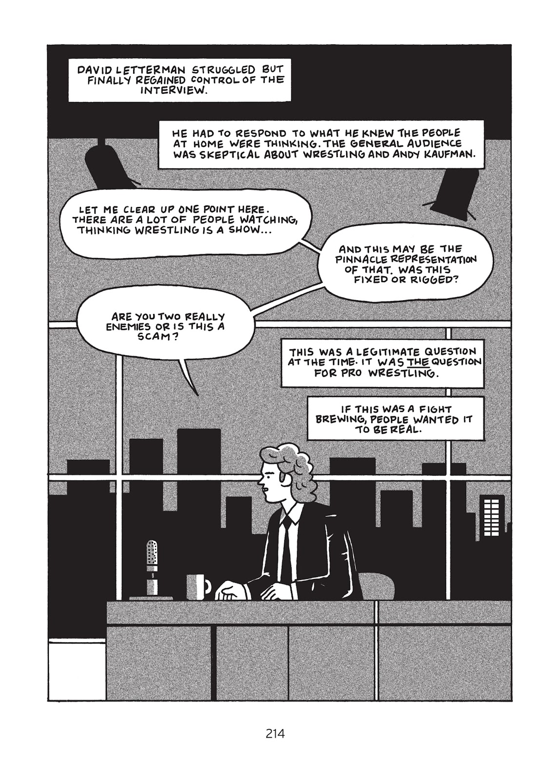 Read online Is This Guy For Real?: The Unbelievable Andy Kaufman comic -  Issue # TPB (Part 3) - 19