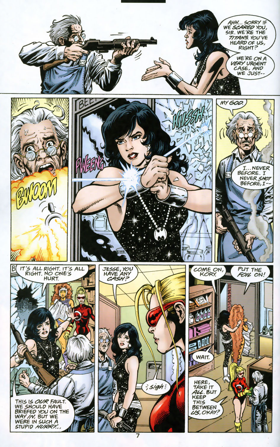 Read online The Titans (1999) comic -  Issue #49 - 8