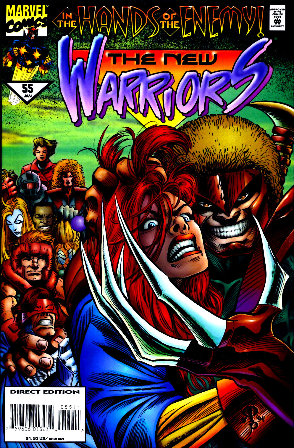 The New Warriors Issue #55 #59 - English 1