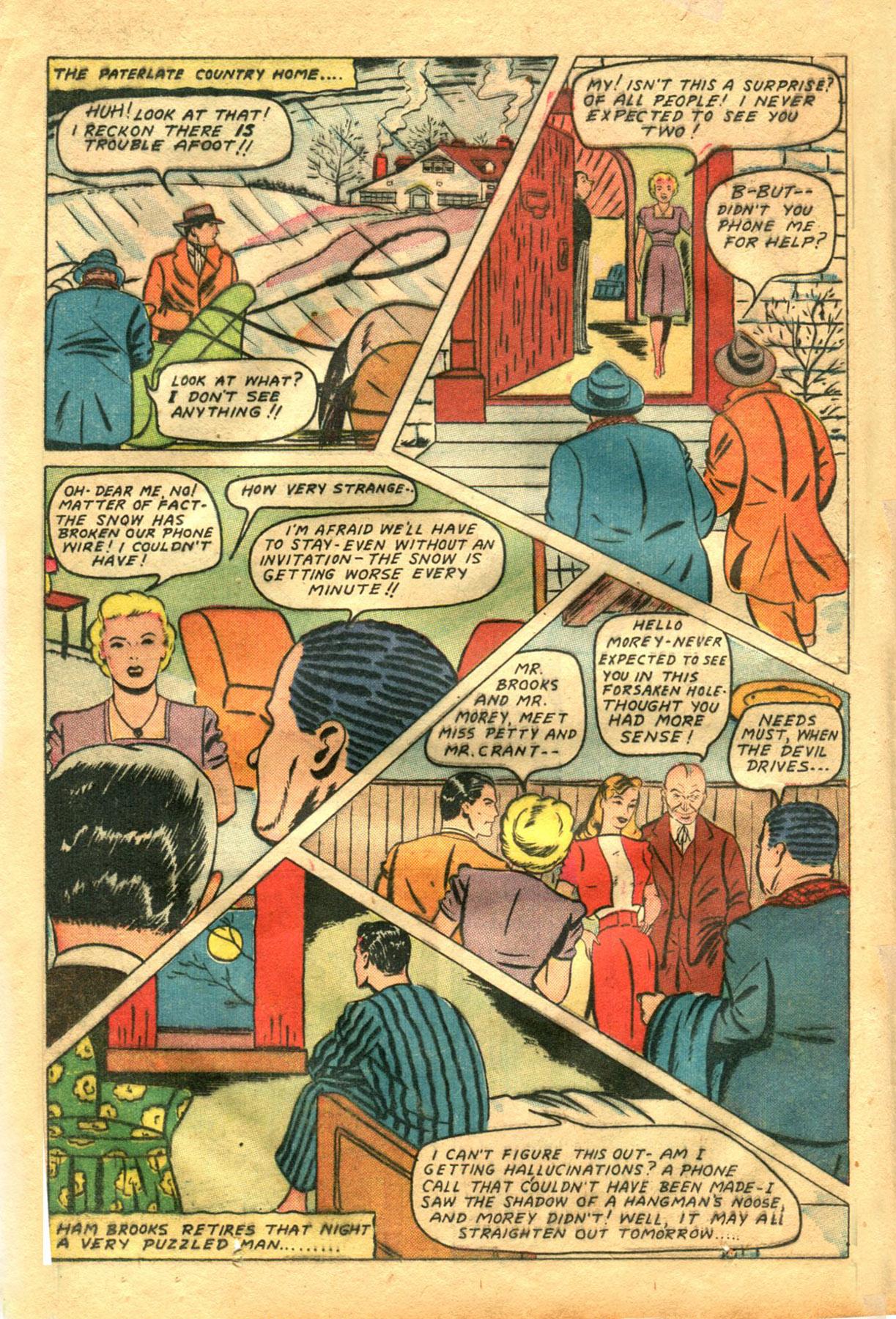 Read online Shadow Comics comic -  Issue #48 - 18