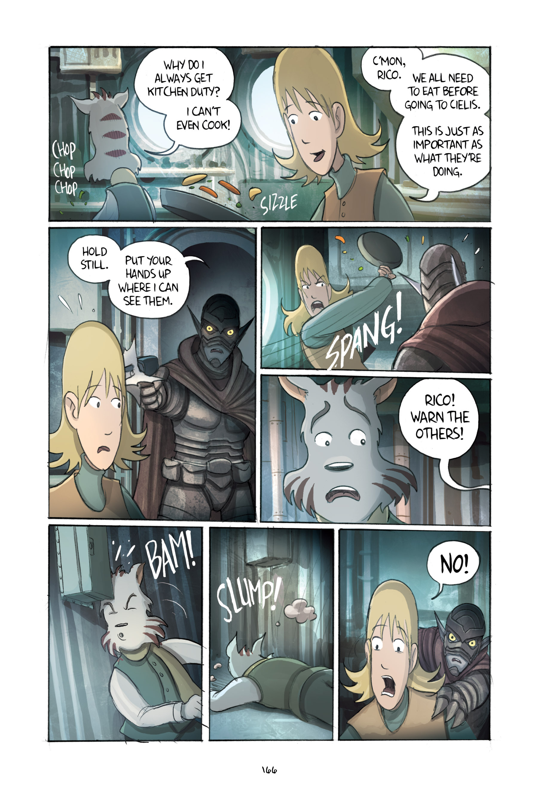 Read online Amulet comic -  Issue #3 - 162