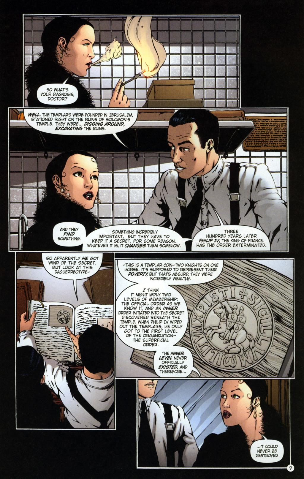 Read online Rex Mundi comic -  Issue #7 - 13