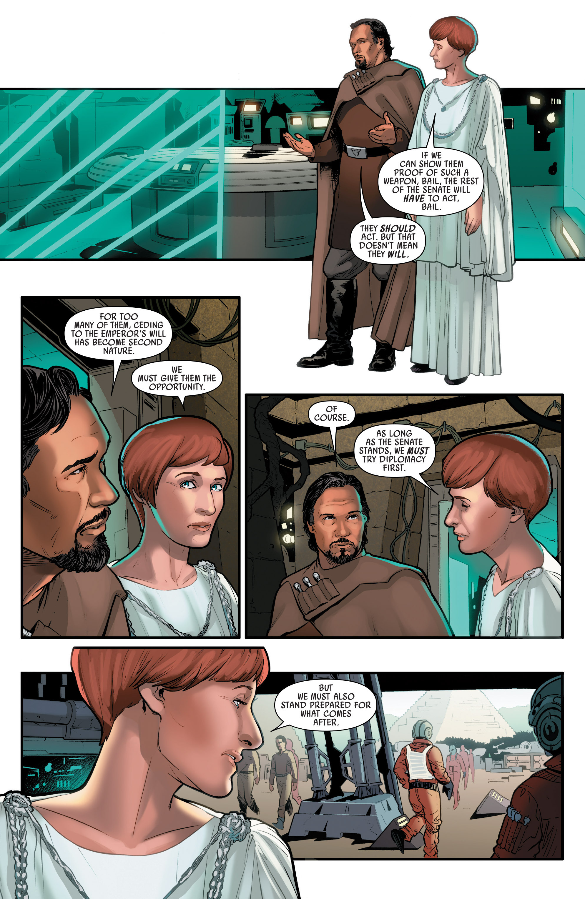 Read online Star Wars: Rogue One Adaptation comic -  Issue #1 - 26
