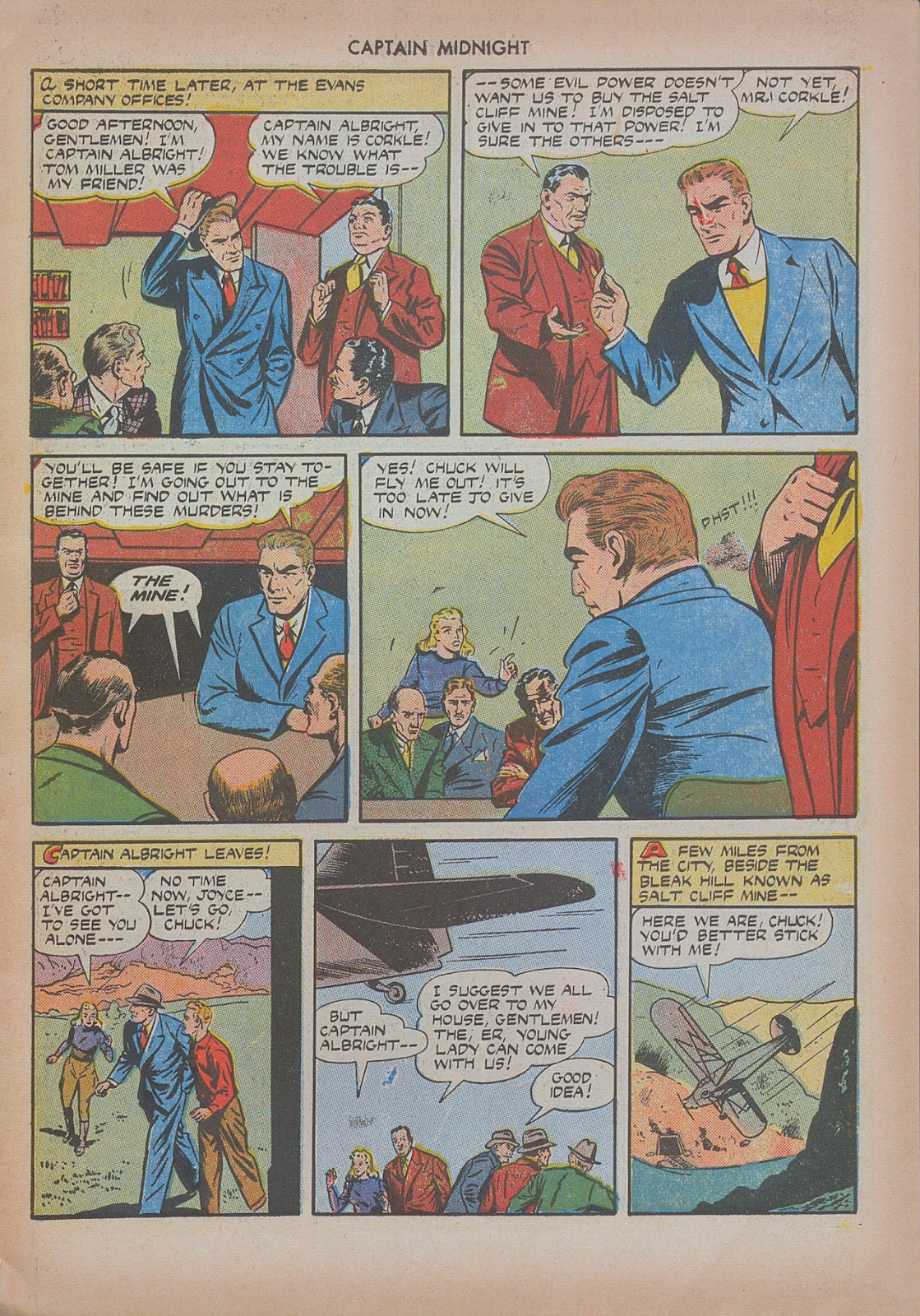 Captain Midnight (1942) issue 20 - Page 19