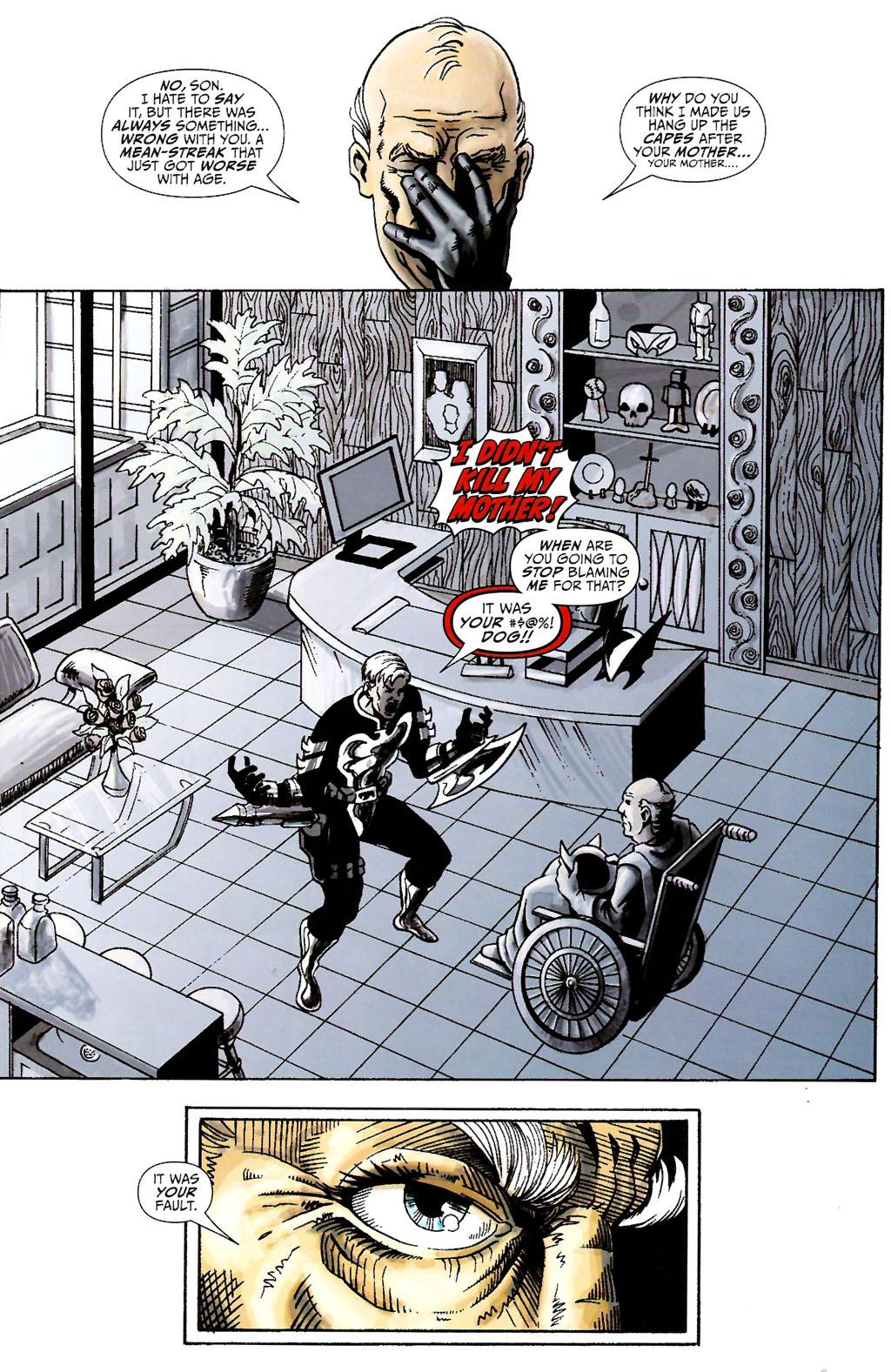 Read online ShadowHawk (2005) comic -  Issue #11 - 5