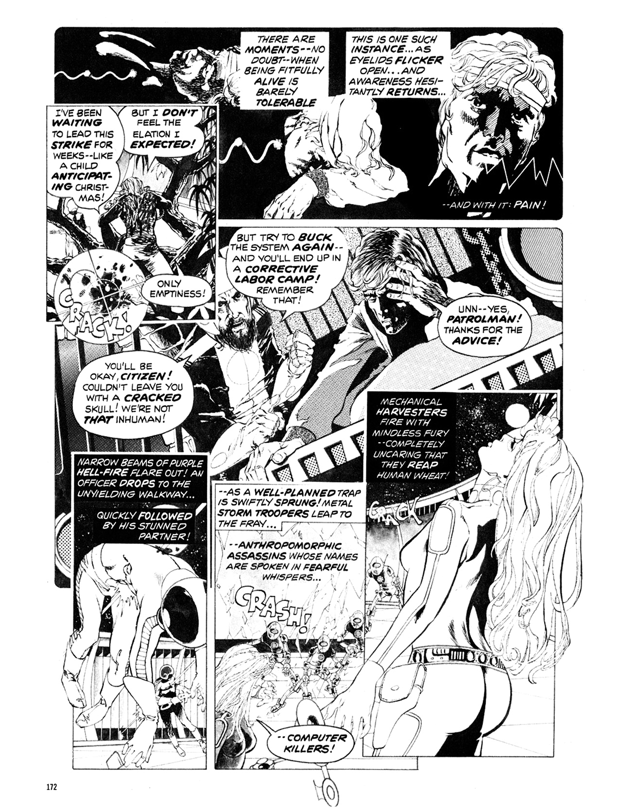 Read online Eerie Archives comic -  Issue # TPB 10 - 173